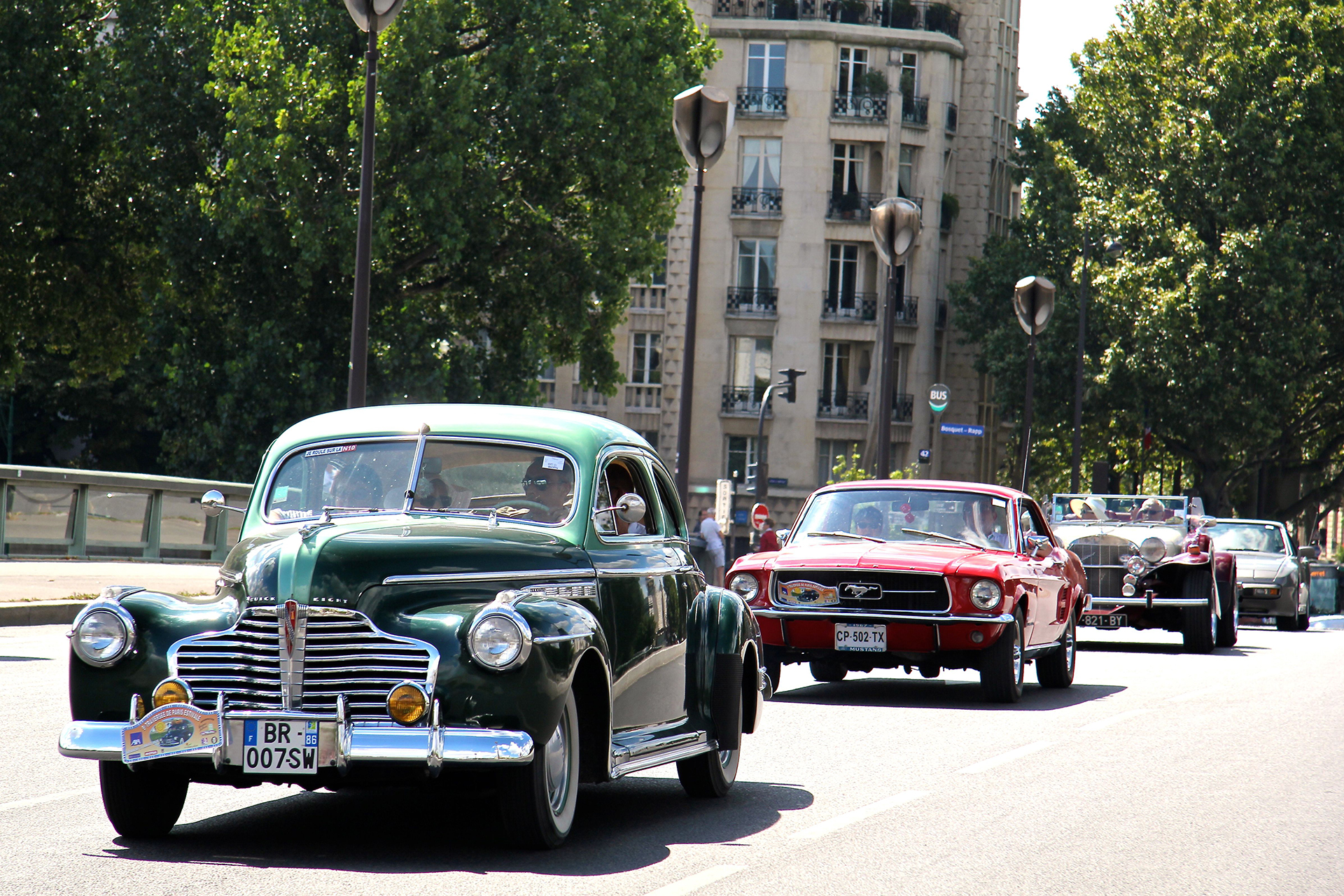 Buick Eight - Traversée de Paris Estivale - 2016 - Ludo Ferrari