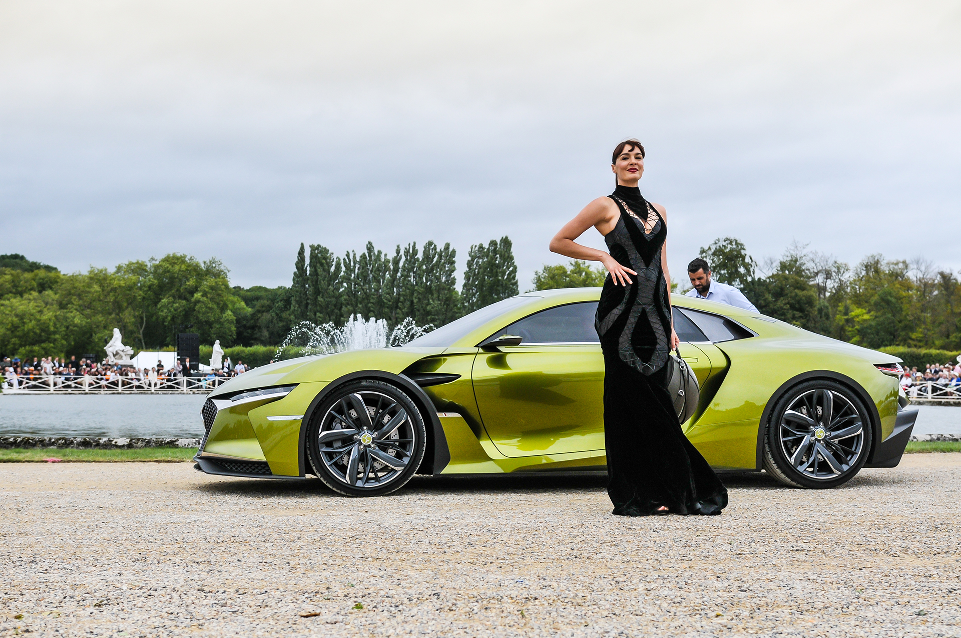 Chantilly 2016 - DS E-TENSE - fashion Eymeric François - photo by Pierre-Yves Riom