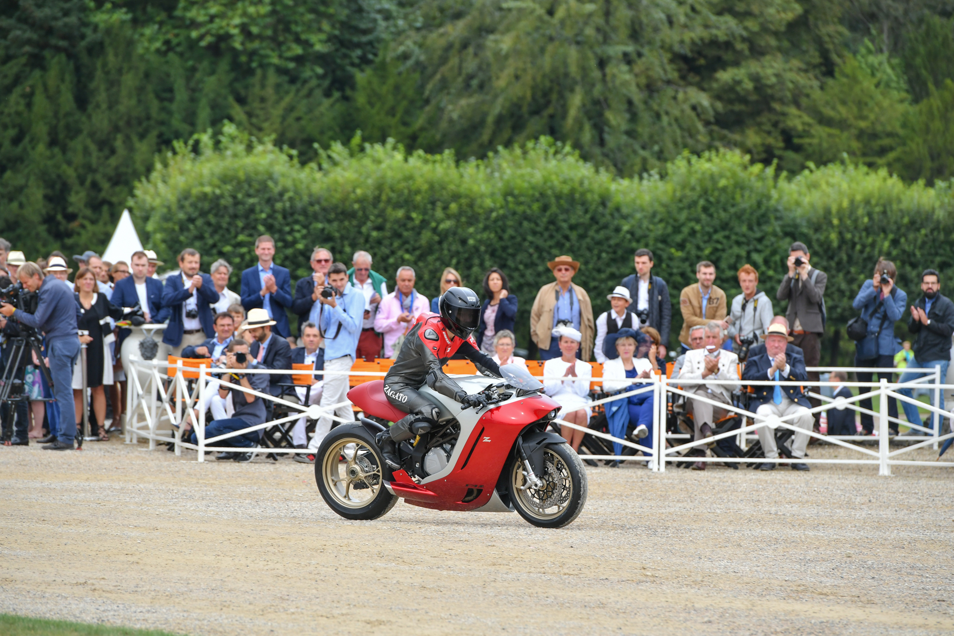 Chantilly 2016 - MV Agusta Zagato F4Z - side-face