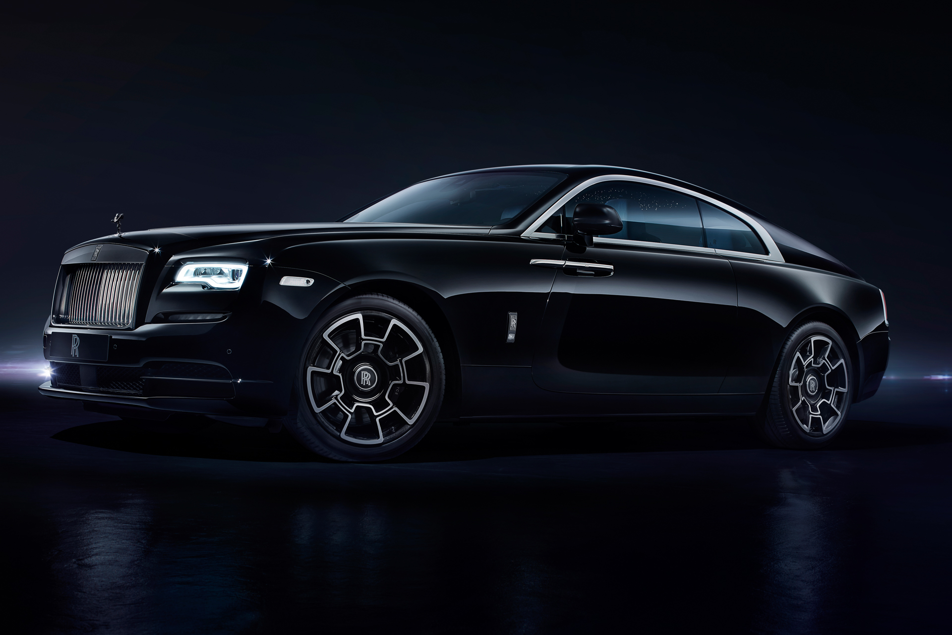 Chantilly 2016 - preview - Rolls-Royce Wraith Black Badge