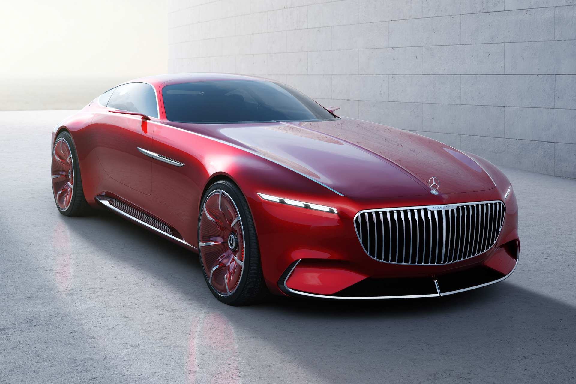 Chantilly 2016 - preview - Vision Mercedes Maybach 6