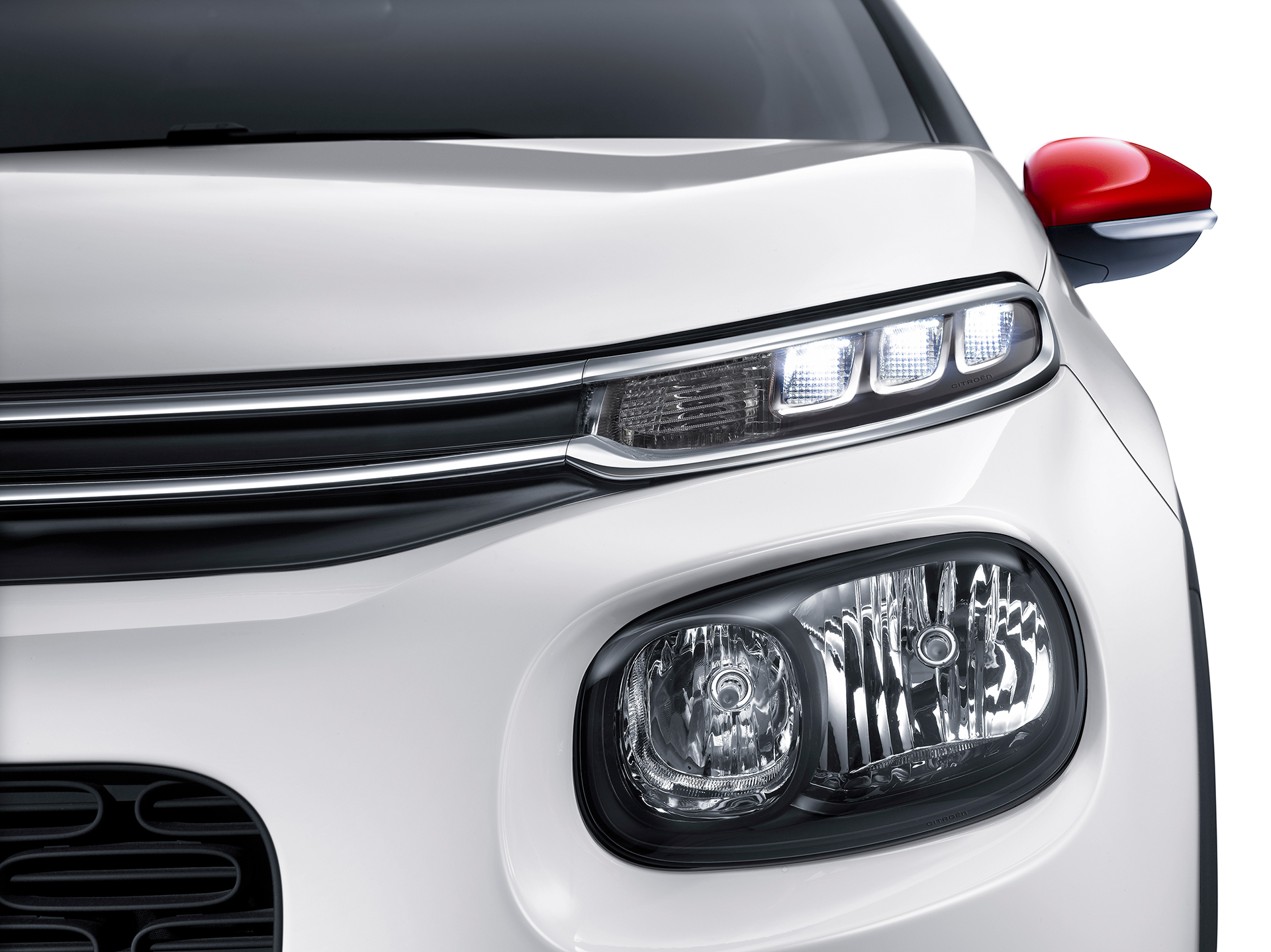 Citroen C3 2016 - front light / optique avant