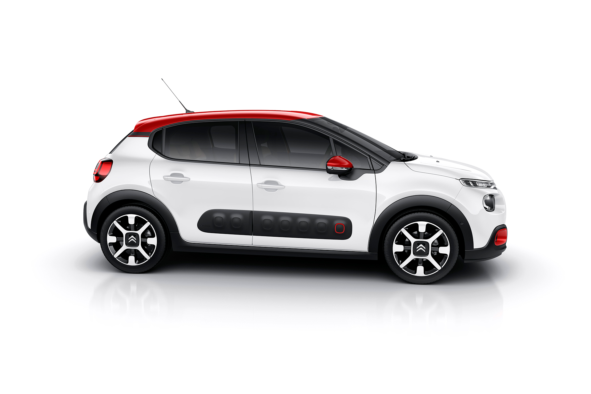 Citroen C3 2016 - side-face / profil