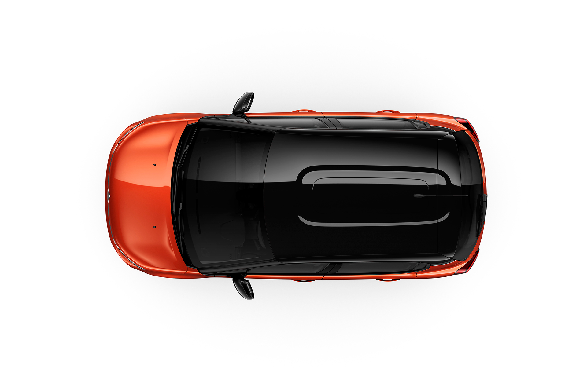 Citroen C3 2016 - top / toit - Noir Onyx - teintes Orange Power