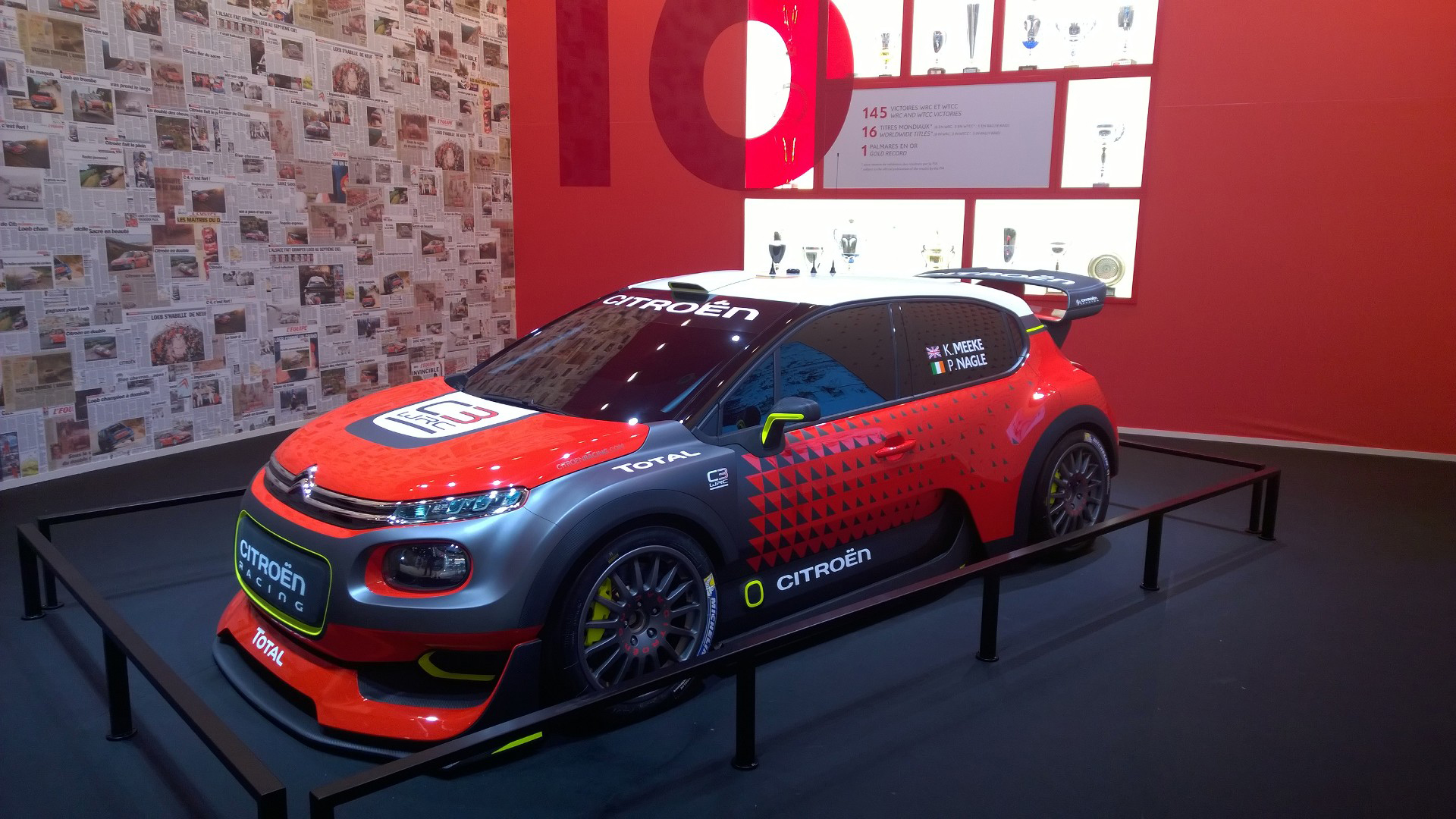 Citroën C3 WRC 2017 - 2016 - Mondial Auto - photo ELJ DM