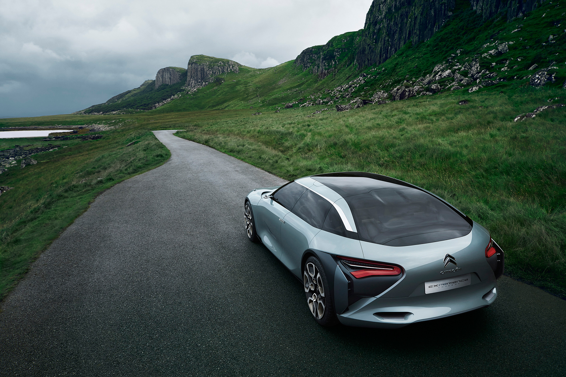 Citroën CXPERIENCE Concept - 2016 - rear road