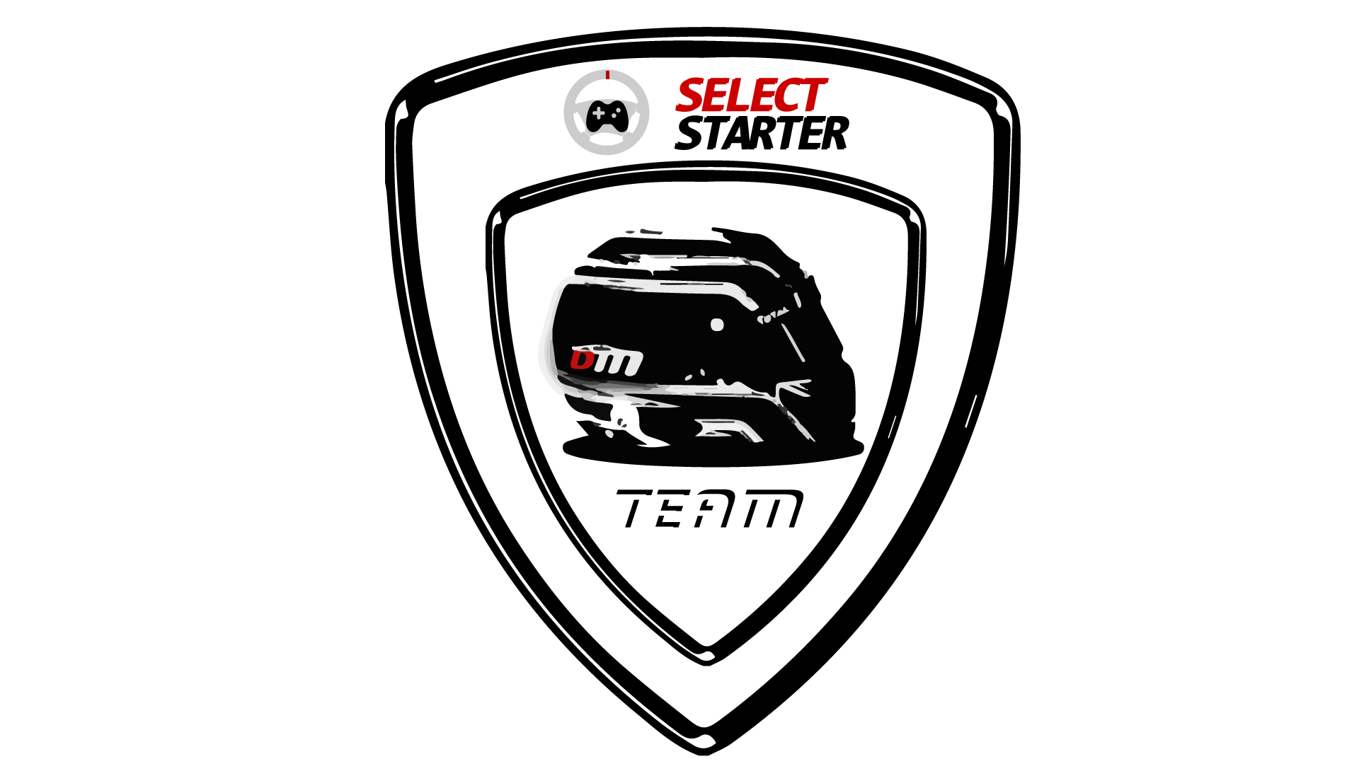 Team DM - Select Starter - Badge écusson