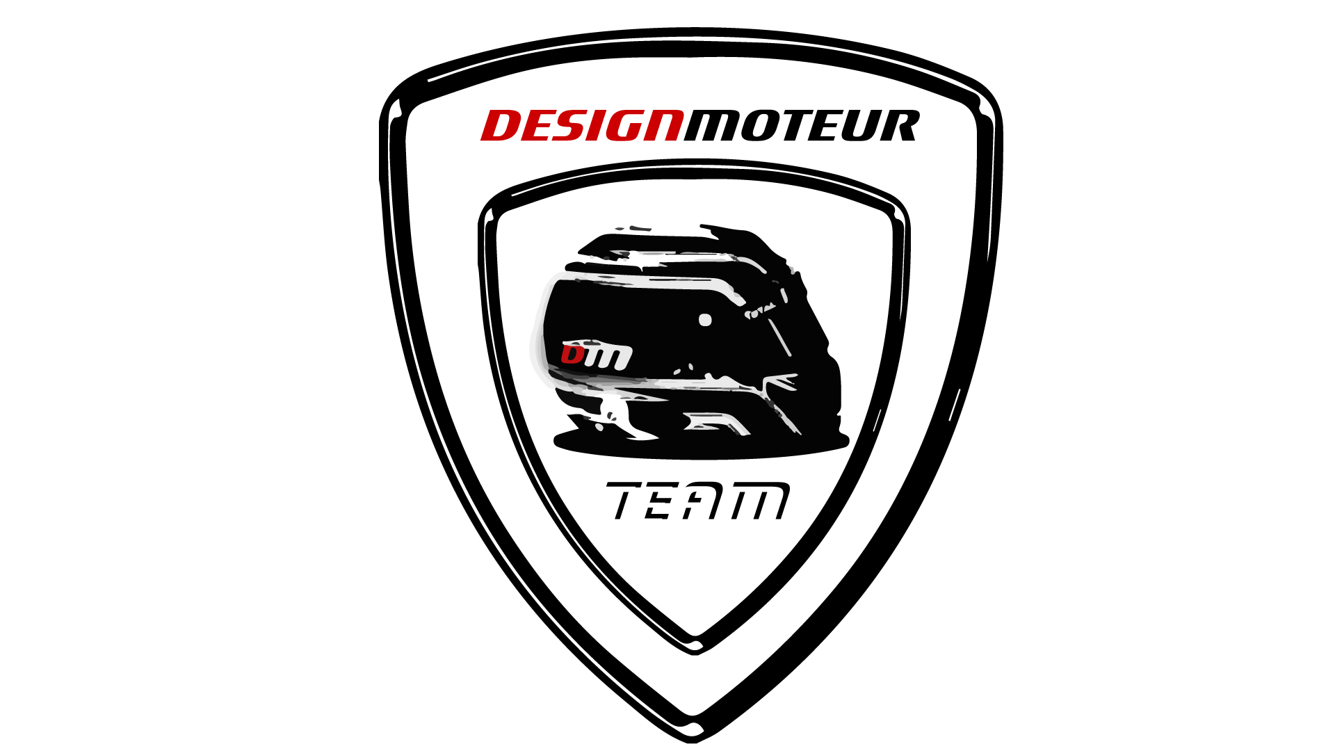 Team DM - DESIGNMOTEUR - Badge écusson