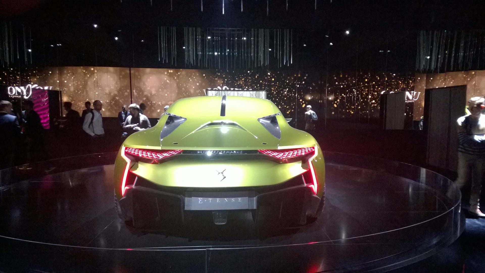 DS Automobiles - E-Tense - arrière / rear - 2016 - Mondial Auto - photo ELJ DM
