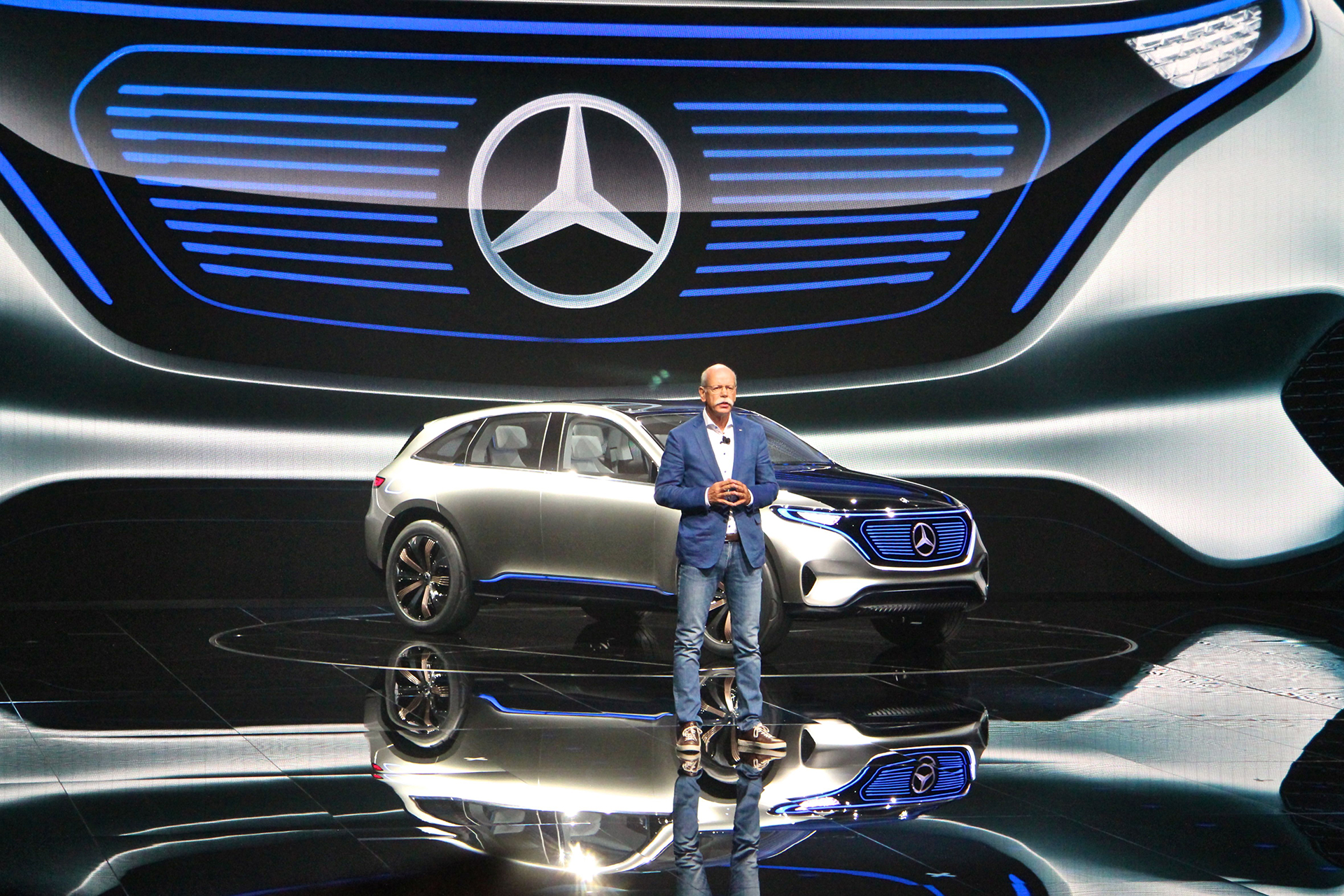 Daimler pres conference - Mercedes-Benz EQ- 2016 - Mondial Auto - photo Ludo Ferrari