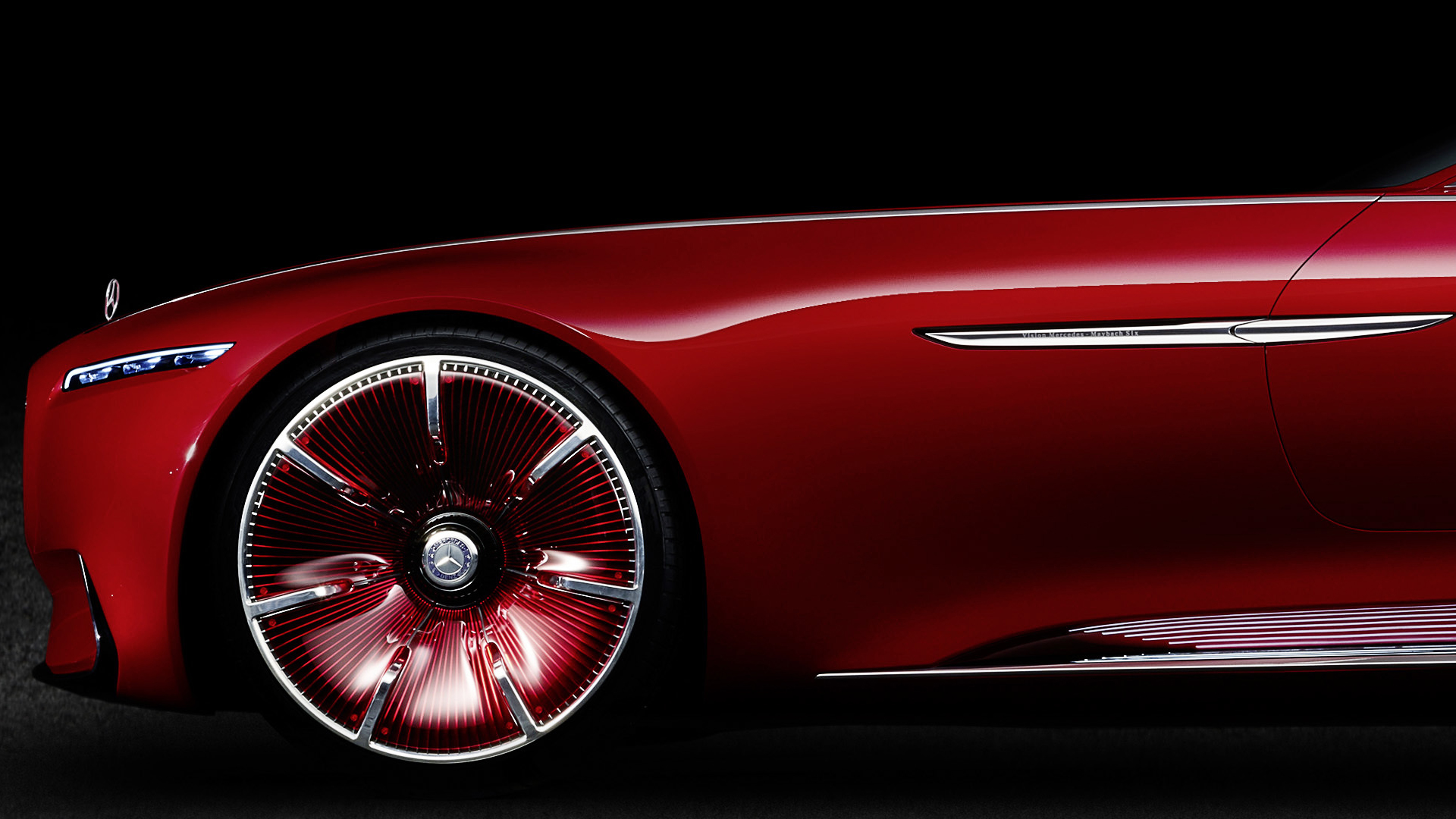 Vision Mercedes Maybach 6 - Daimler - 2016 - wheel / jante