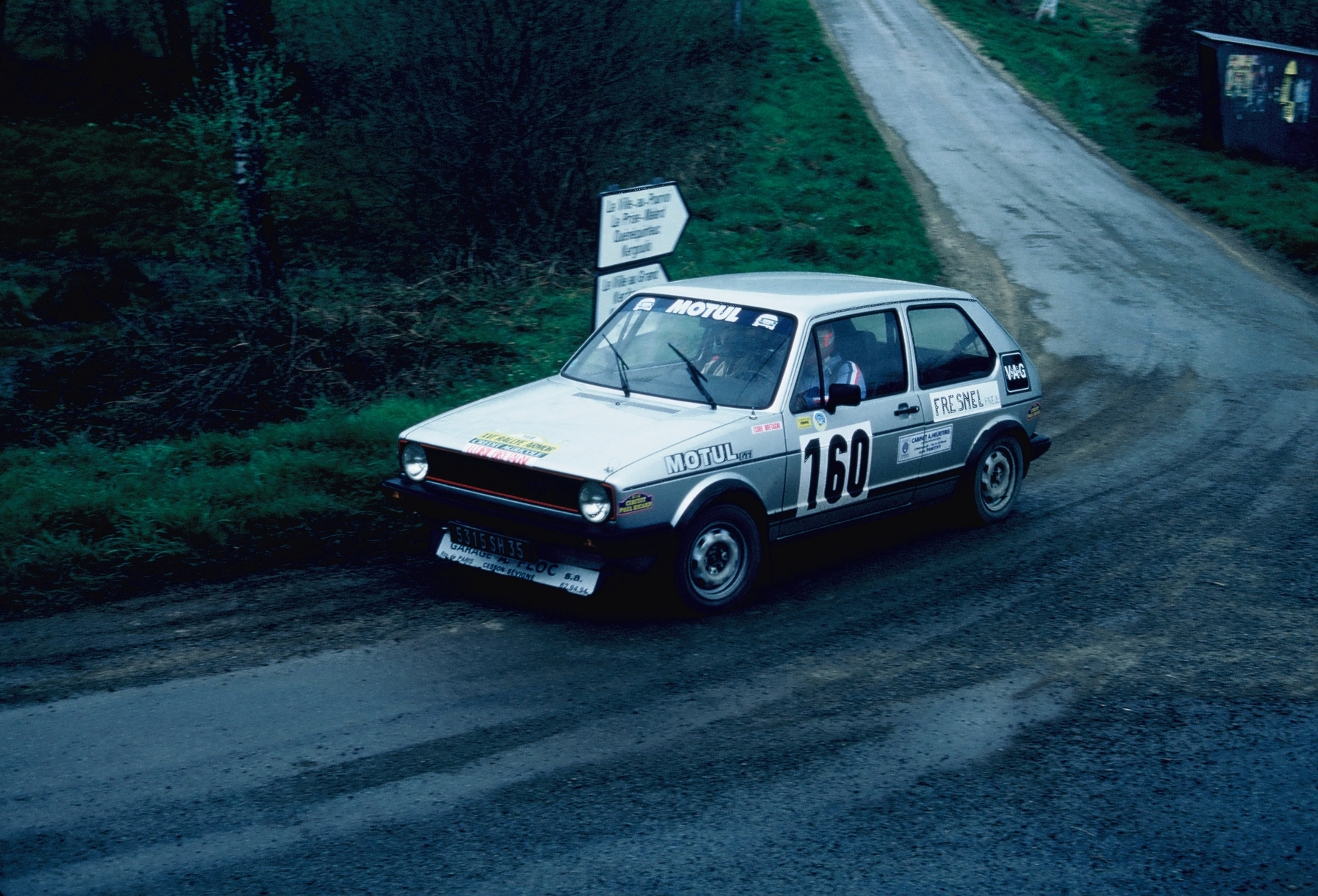 Desilles - VW Golf GTI - 1983 - Rallye-Armor - Photo TLB