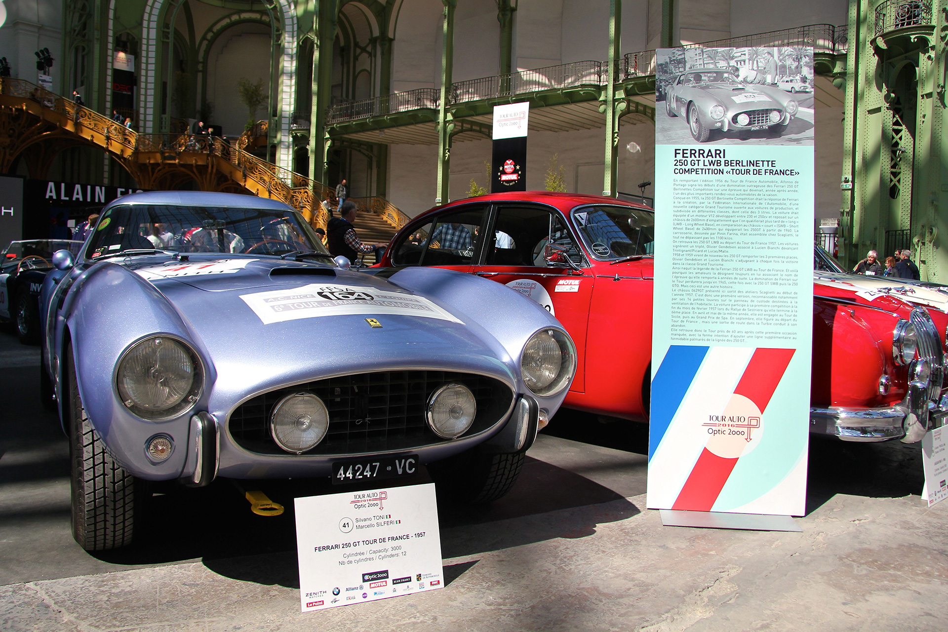 Ferrari 250 GT Tour de France - Tour Auto 2016 - Grand Palais -  Ludo Ferrari Photography