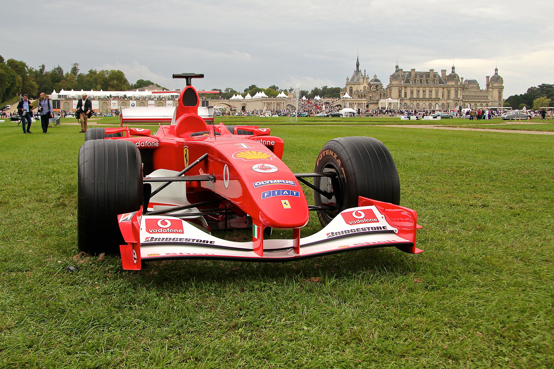 Ferrari F1 F2007 - Chantilly - 2016 - photo Ludo Ferrari