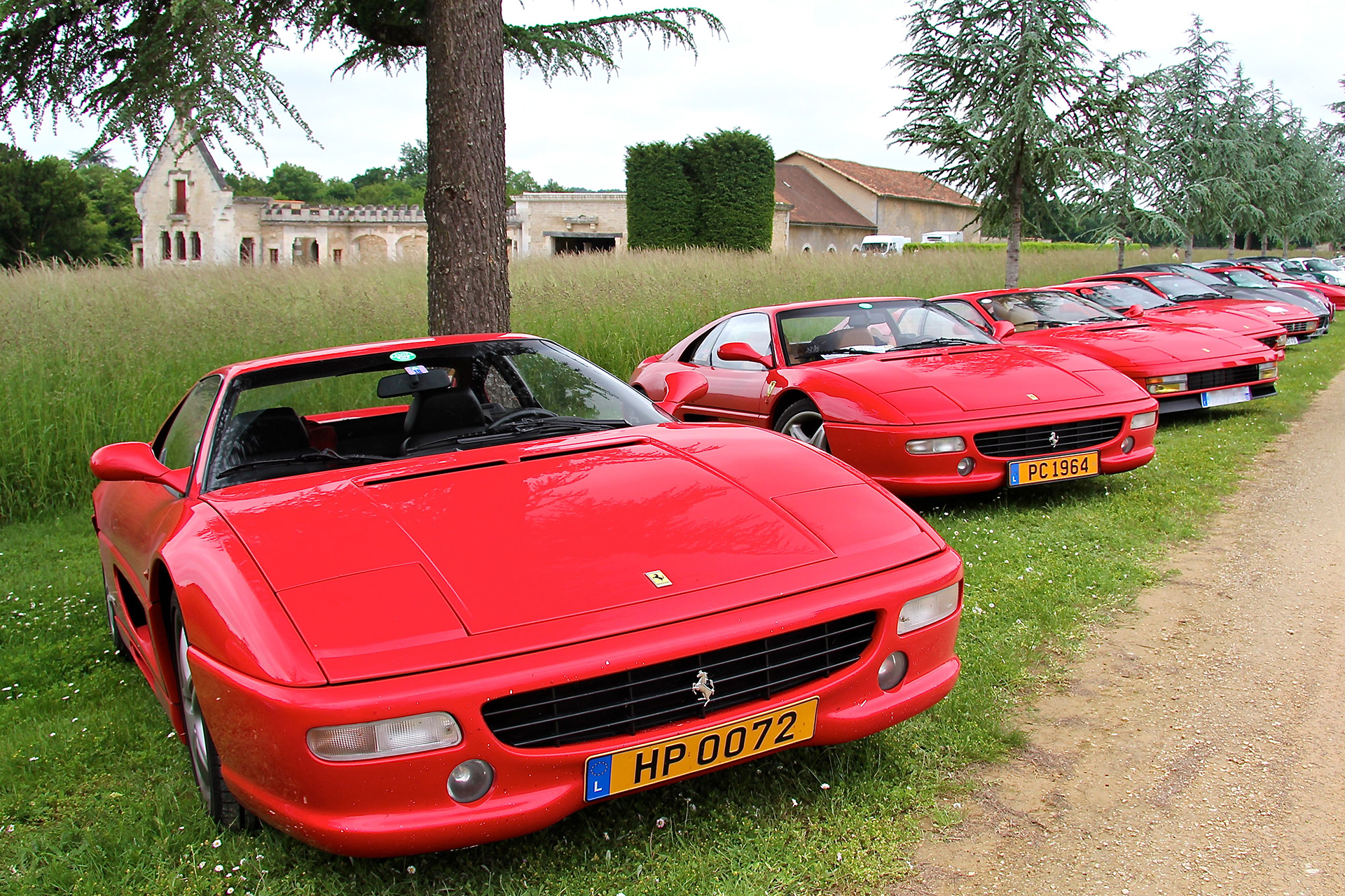Ferrari F355 Rallye Sport et Collection - 2016 - photo Ludo Ferrari