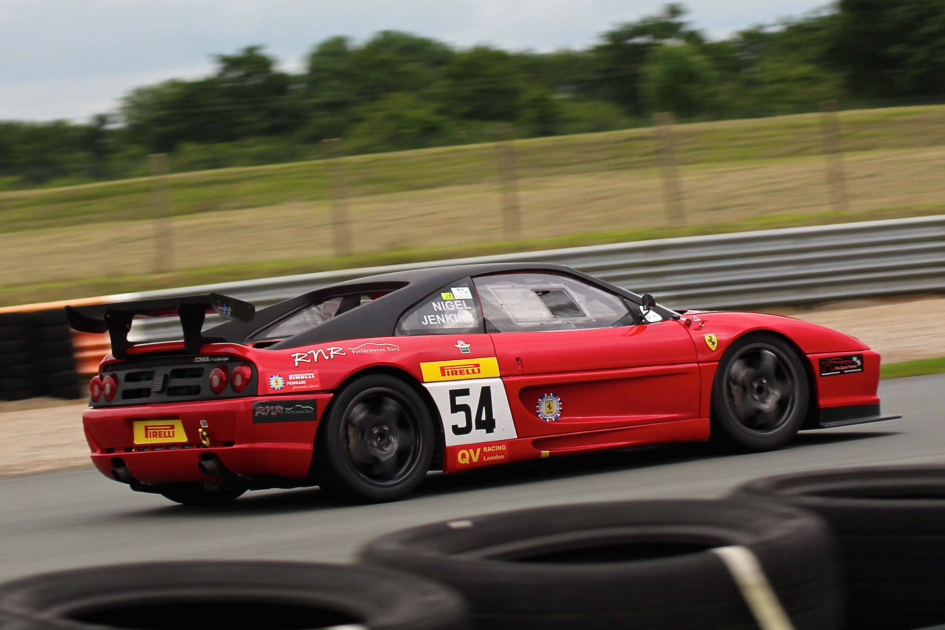 Ferrari F355 Challenge - Pirelli - formula classic Sport et Collection - 2016 - photo Ludo Ferrari