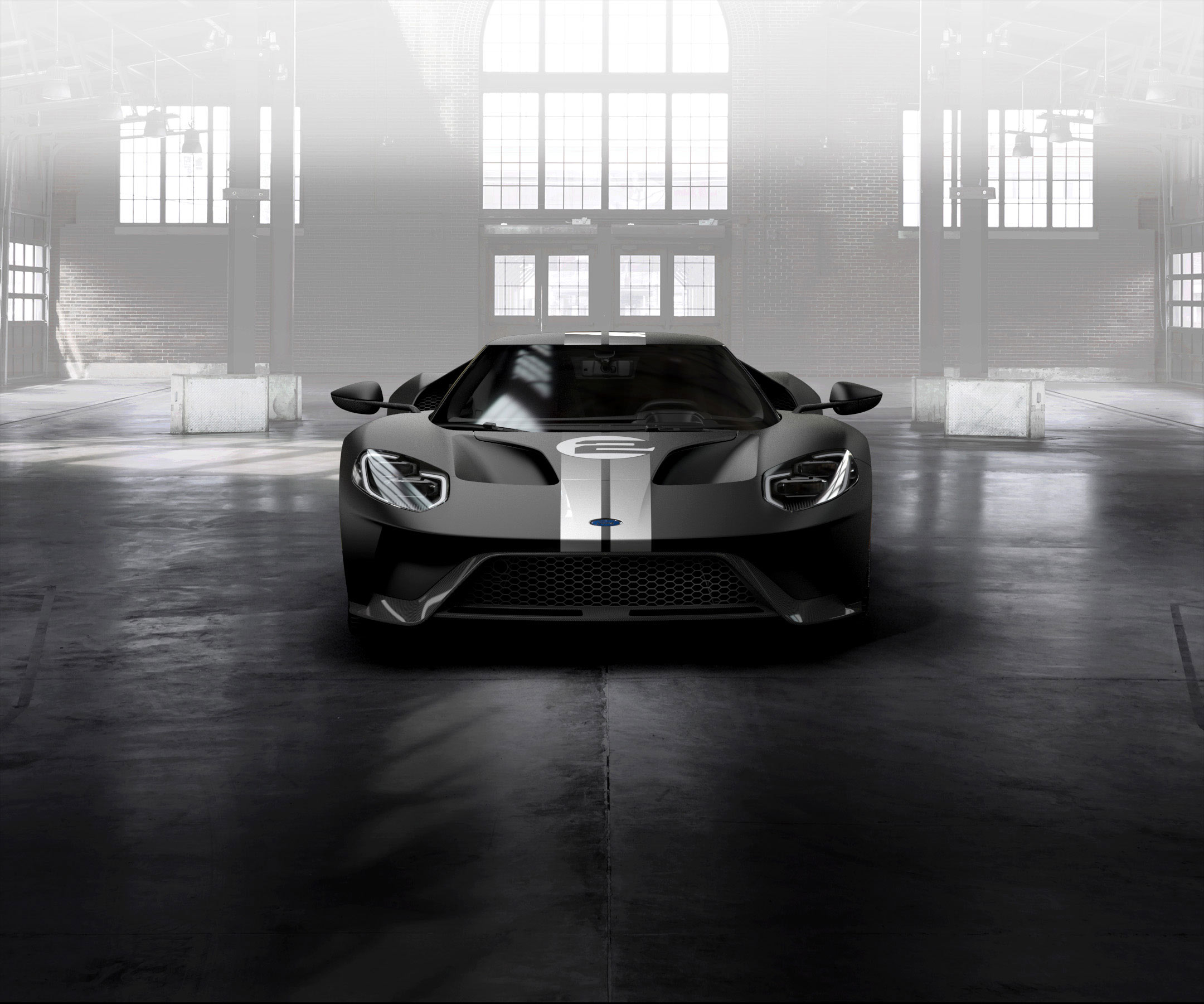 Ford GT 2016 - livery 1966 Heritage Edition - front-face / face-avant
