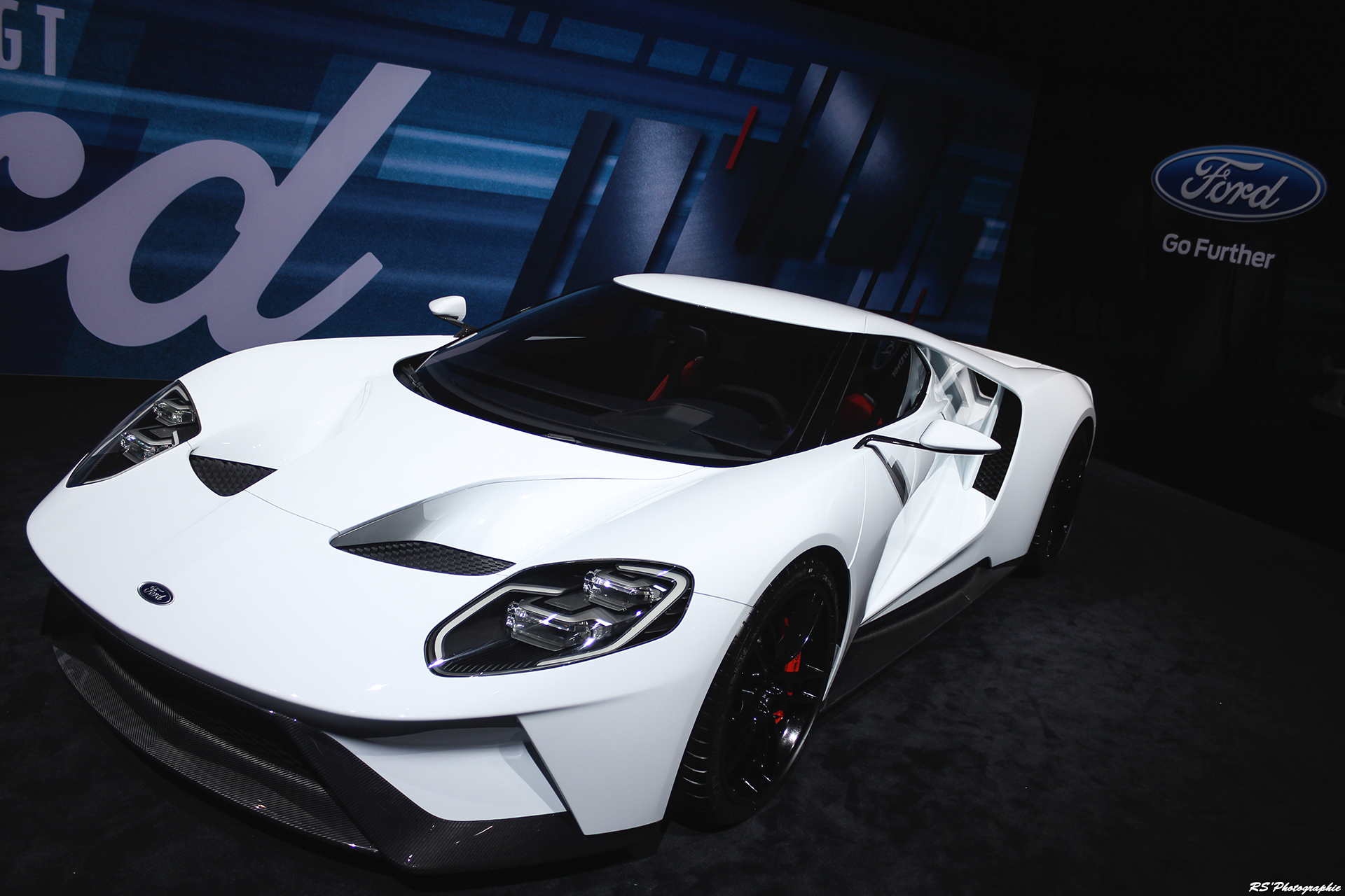Ford GT - front - Geneva 2016 - Arnaud Demasier RS Photographie