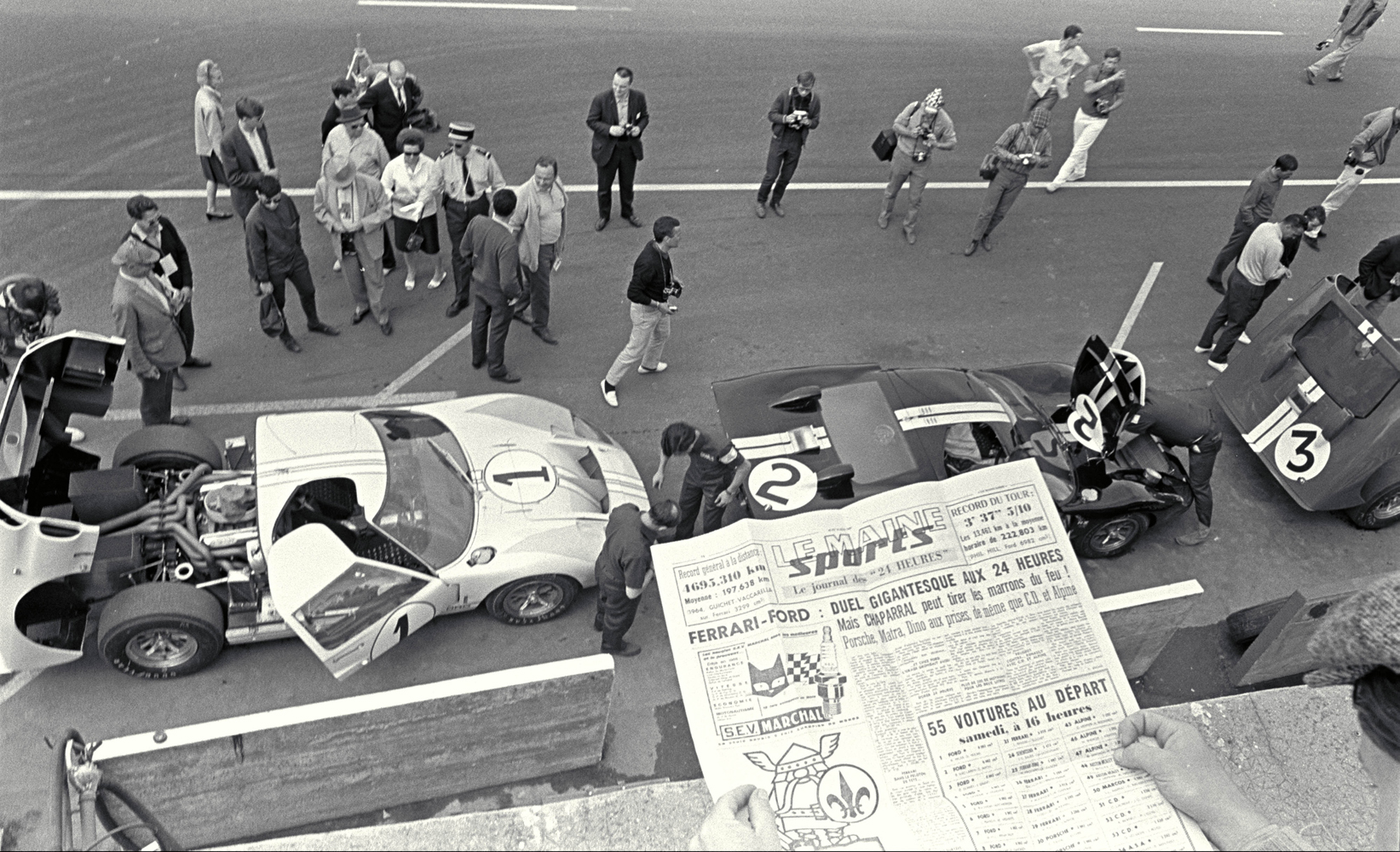 24 Hours of LeMans, LeMans, France, 1966