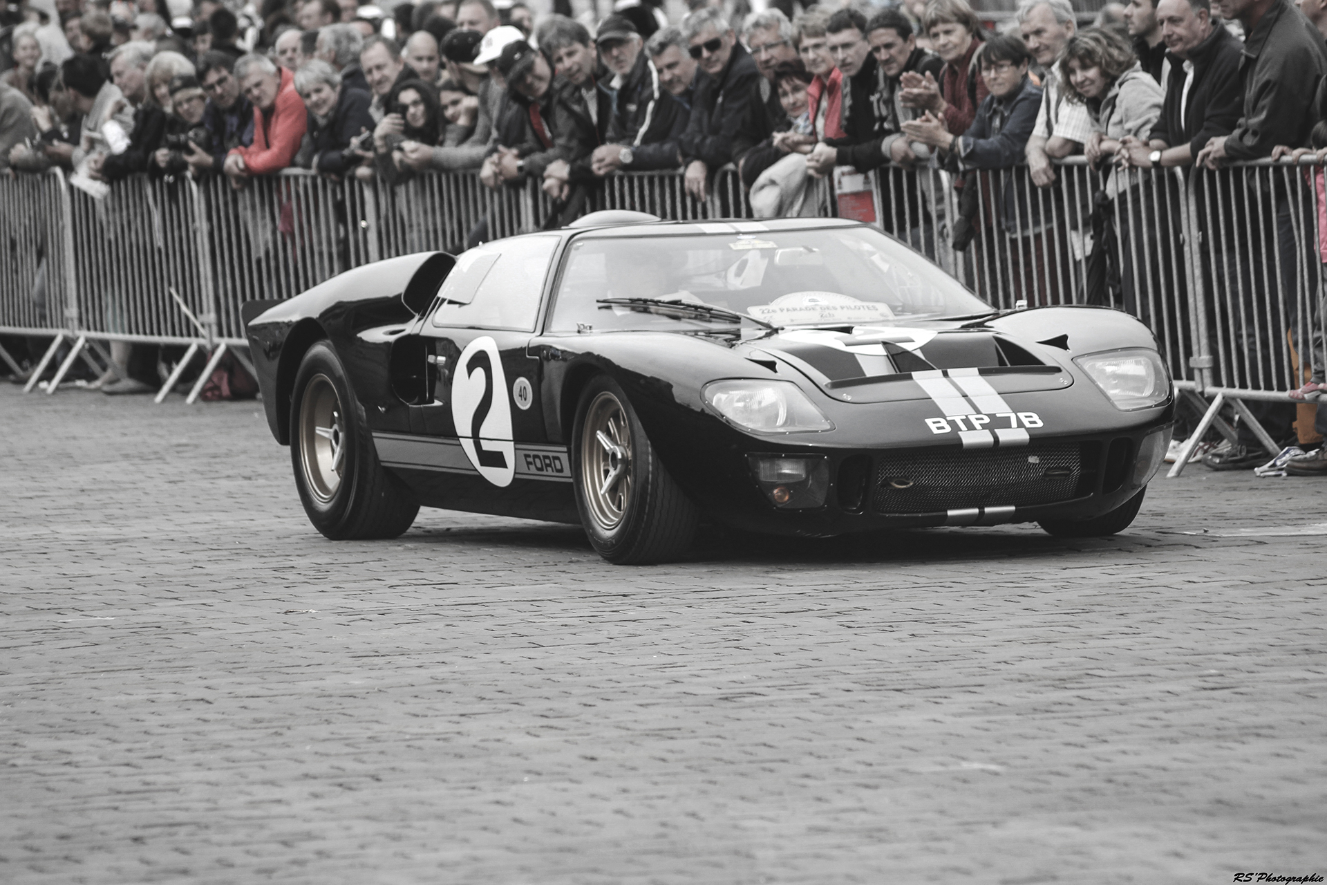 Ford GT40 mk2 1966 - Parade 2016 Le Mans 24 - Arnaud Demasier RS Photographie