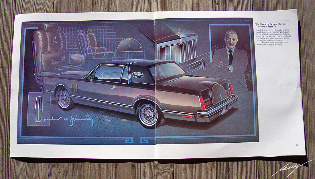 Ford Lincoln Mark VI  Givenchy