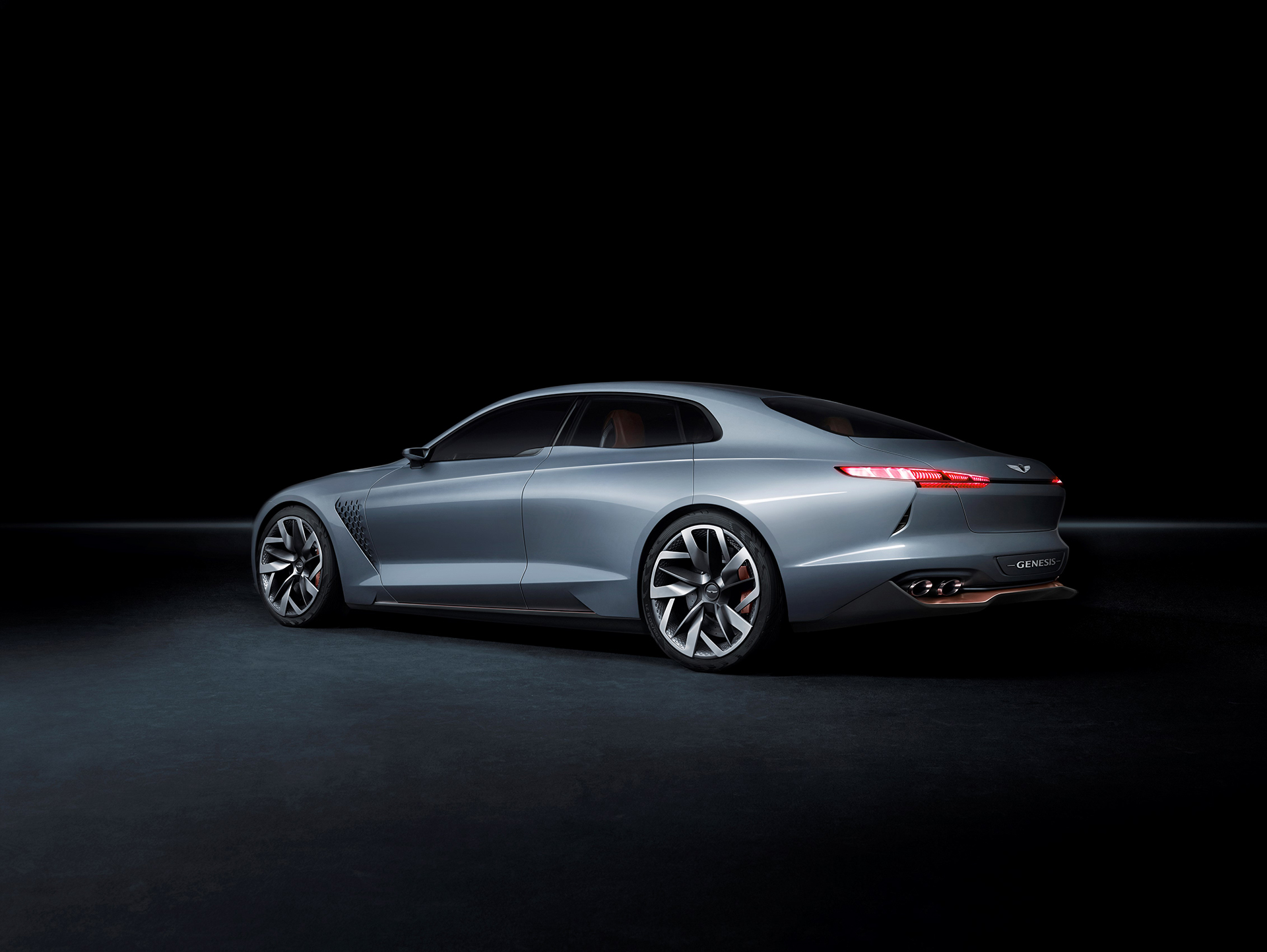 Genesis New York Concept - 2016 - rear side-face / profil arrière