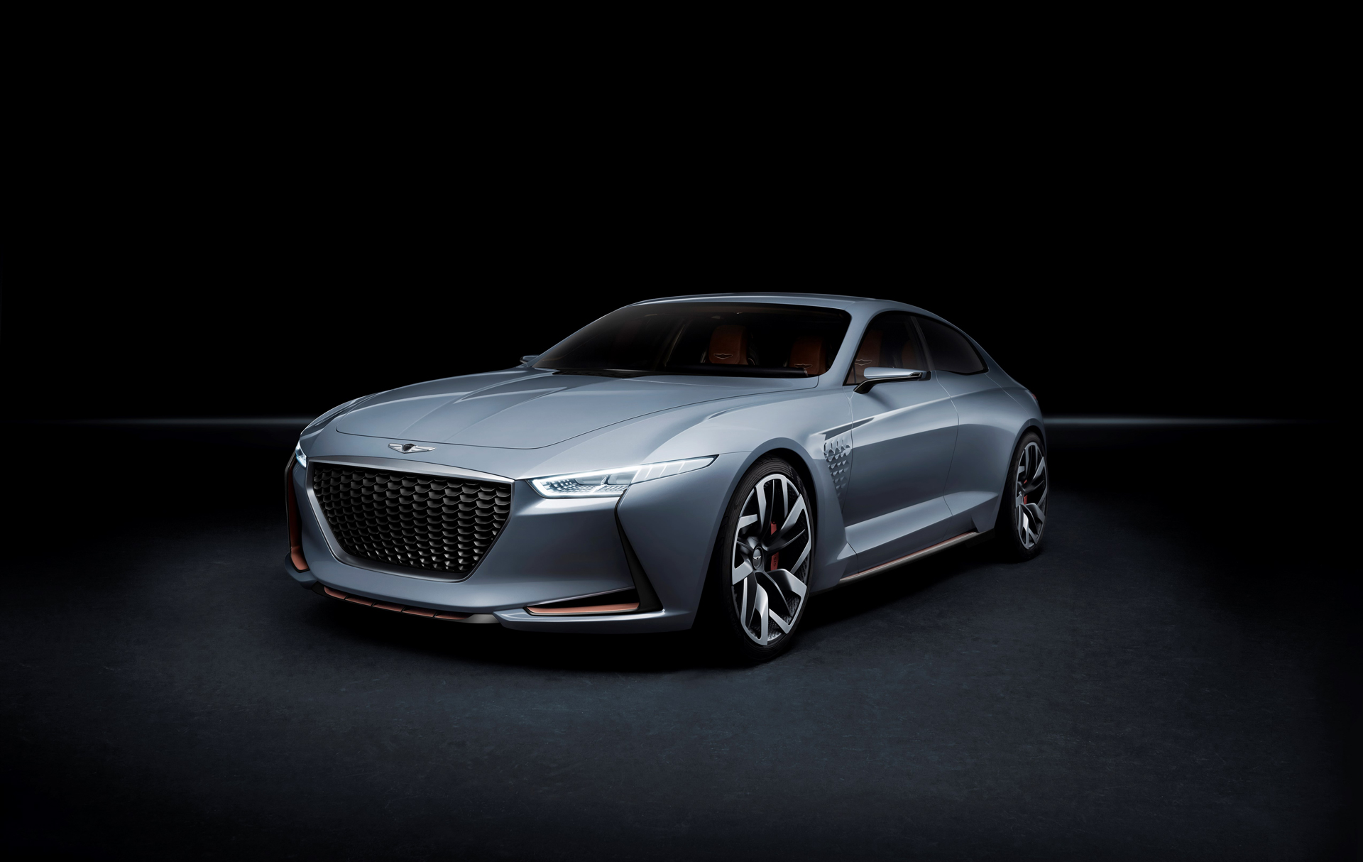 Genesis New York Concept - 2016 - front side-face / profil avant