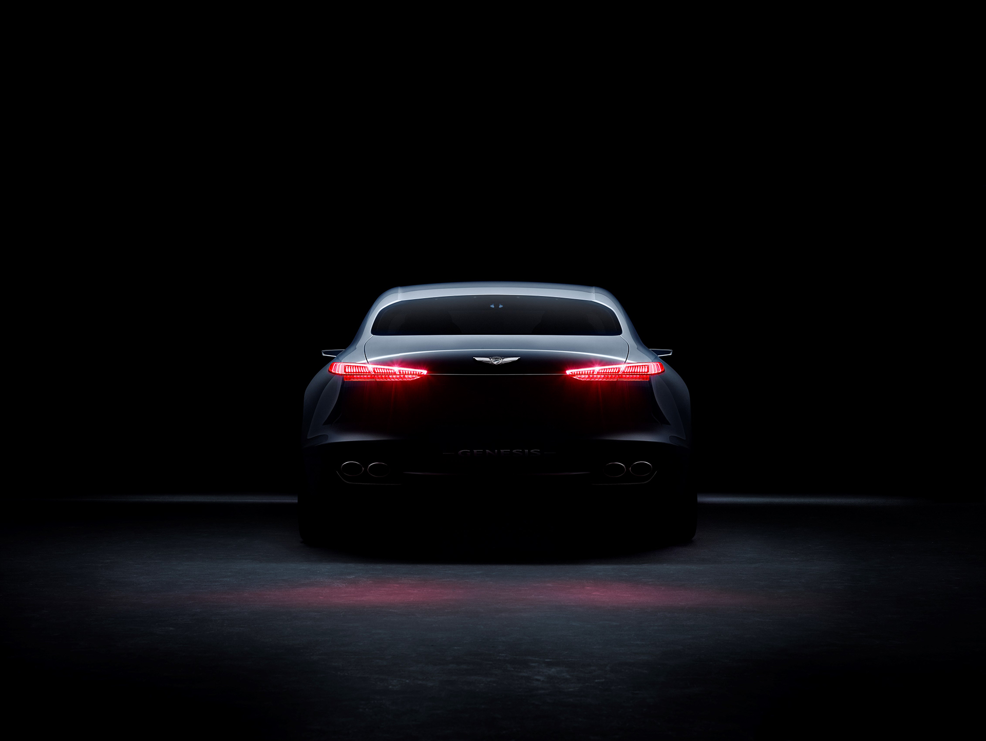 Genesis New York Concept - 2016 - rear light / feux arrière