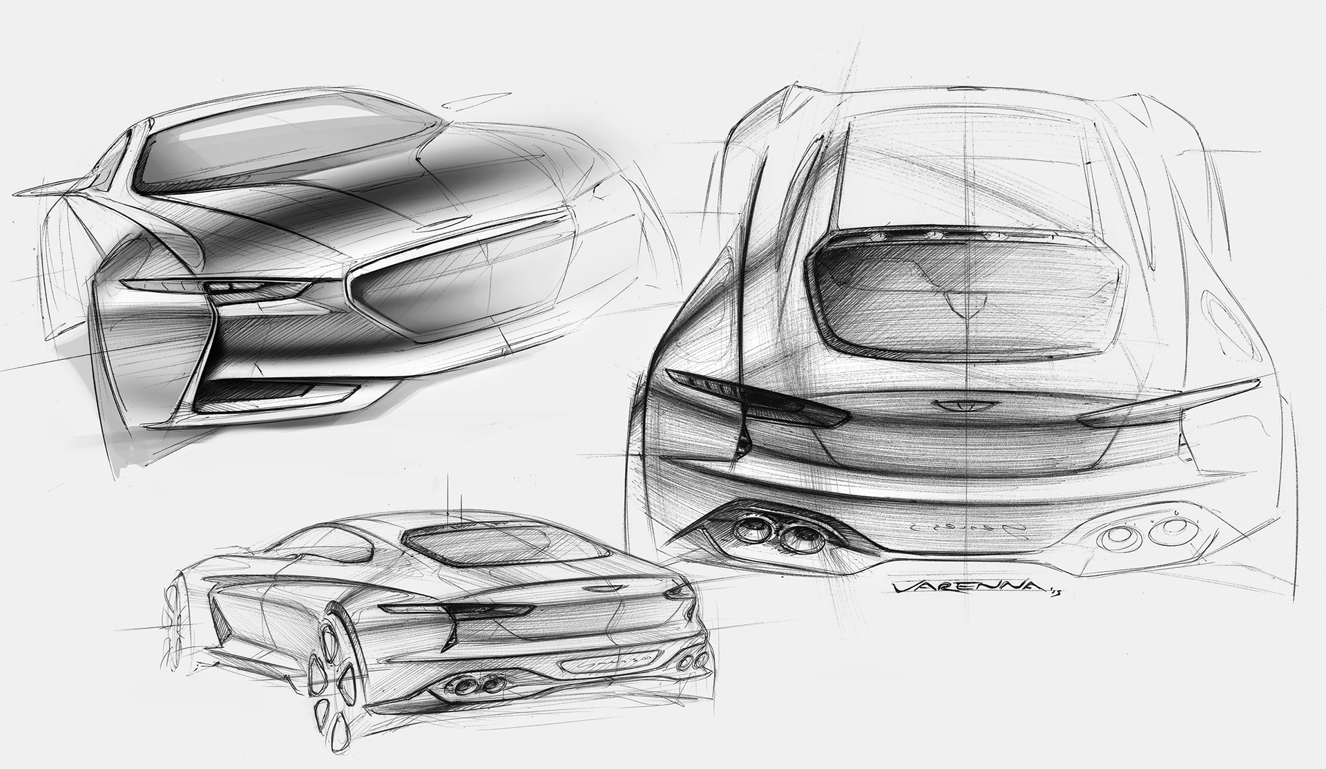 Genesis New York Concept - sketch rear