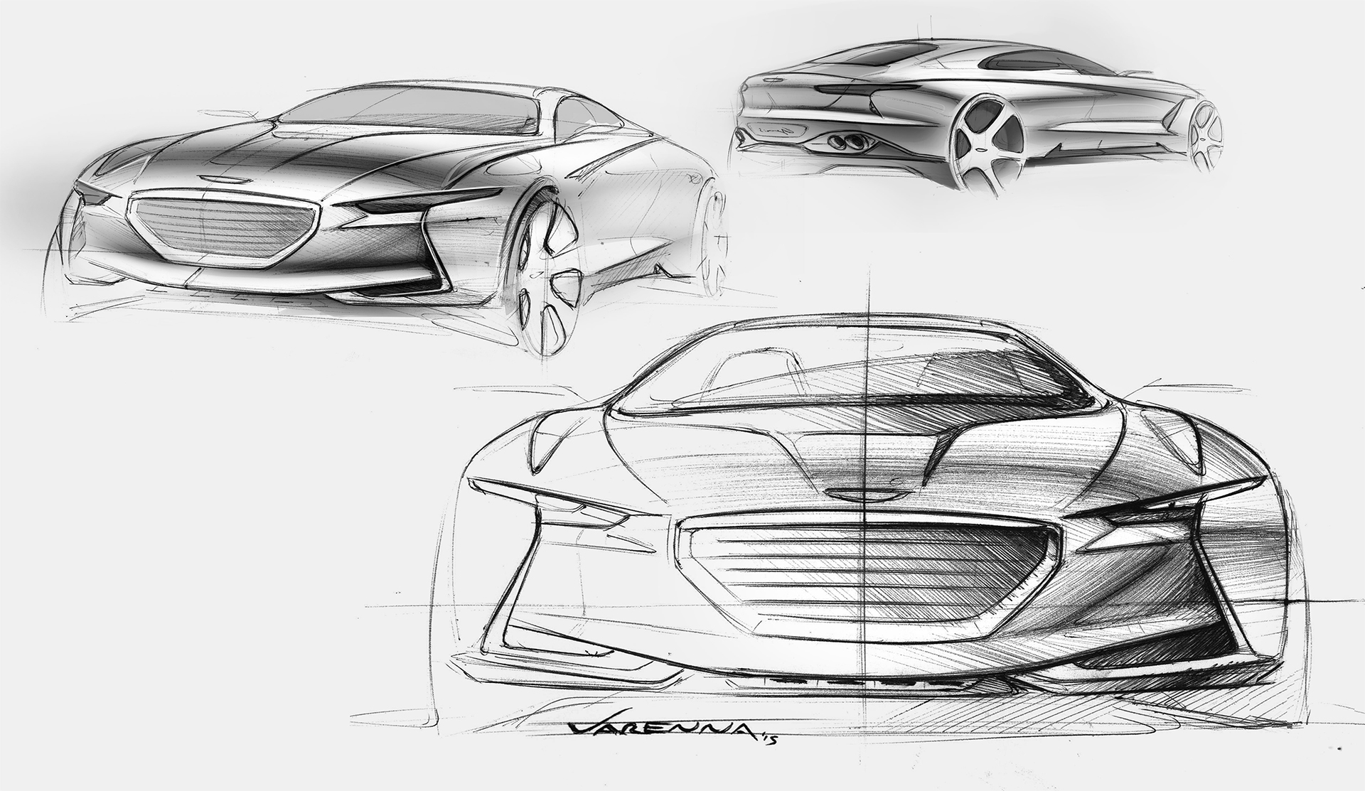 Genesis New York Concept - sketch front