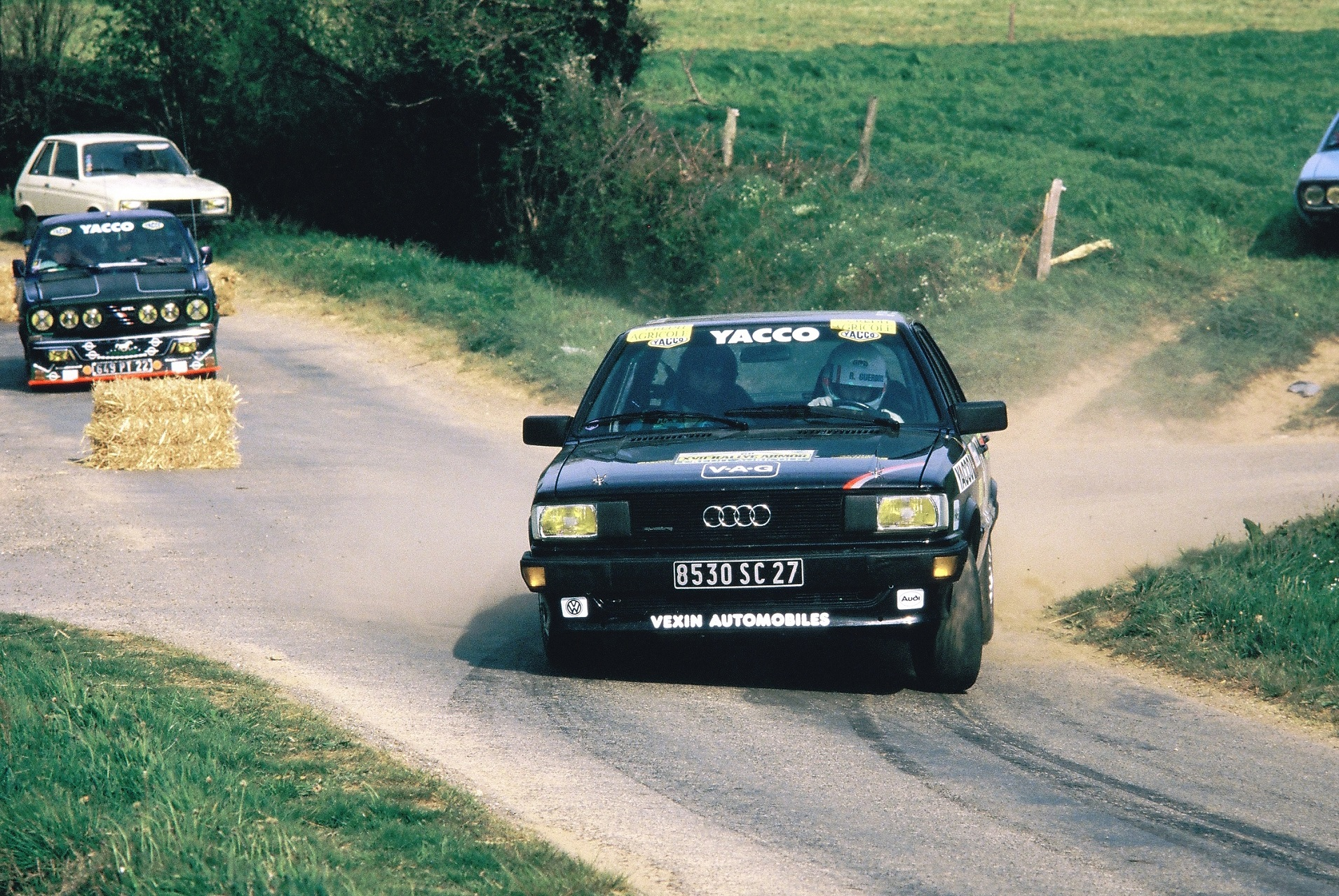 Guerbois - Audi 80 Quattro Groupe N - 1984 - Rallye Armor - photo Thierry Le Bras