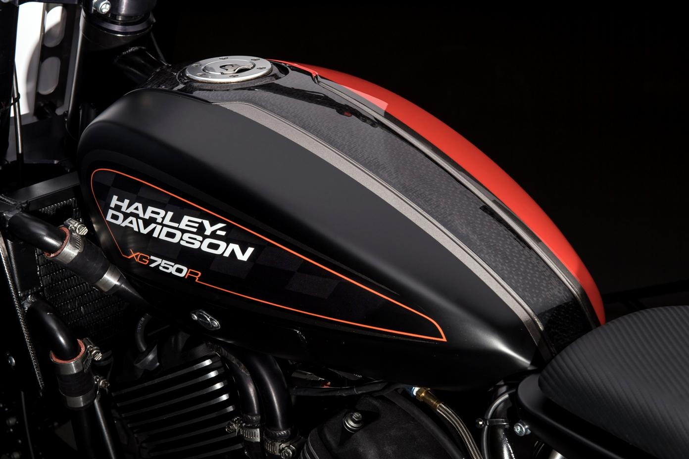 Harley Davidson XG750R - 2016 - black red