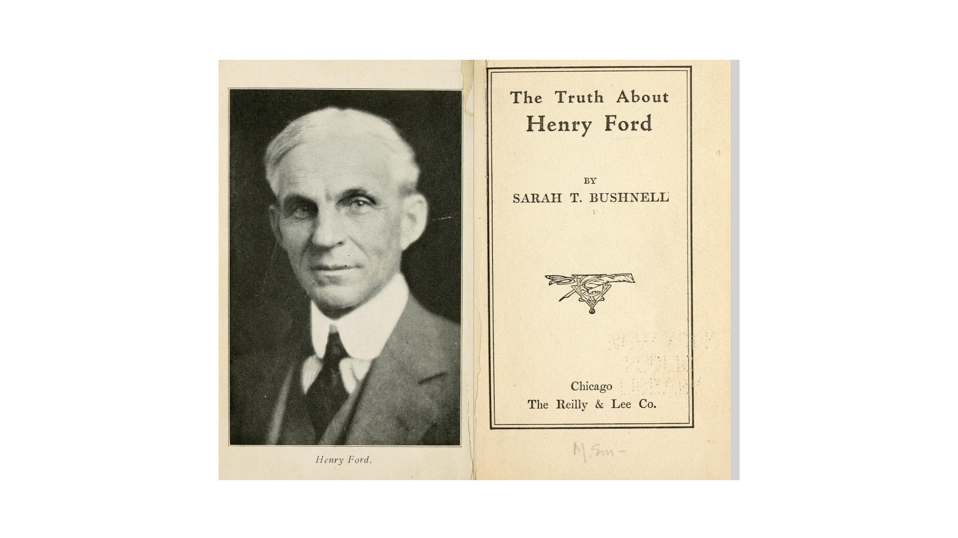 The truth about Henry Ford - by Bushnell, Sarah T - 1922 - New York Public Library