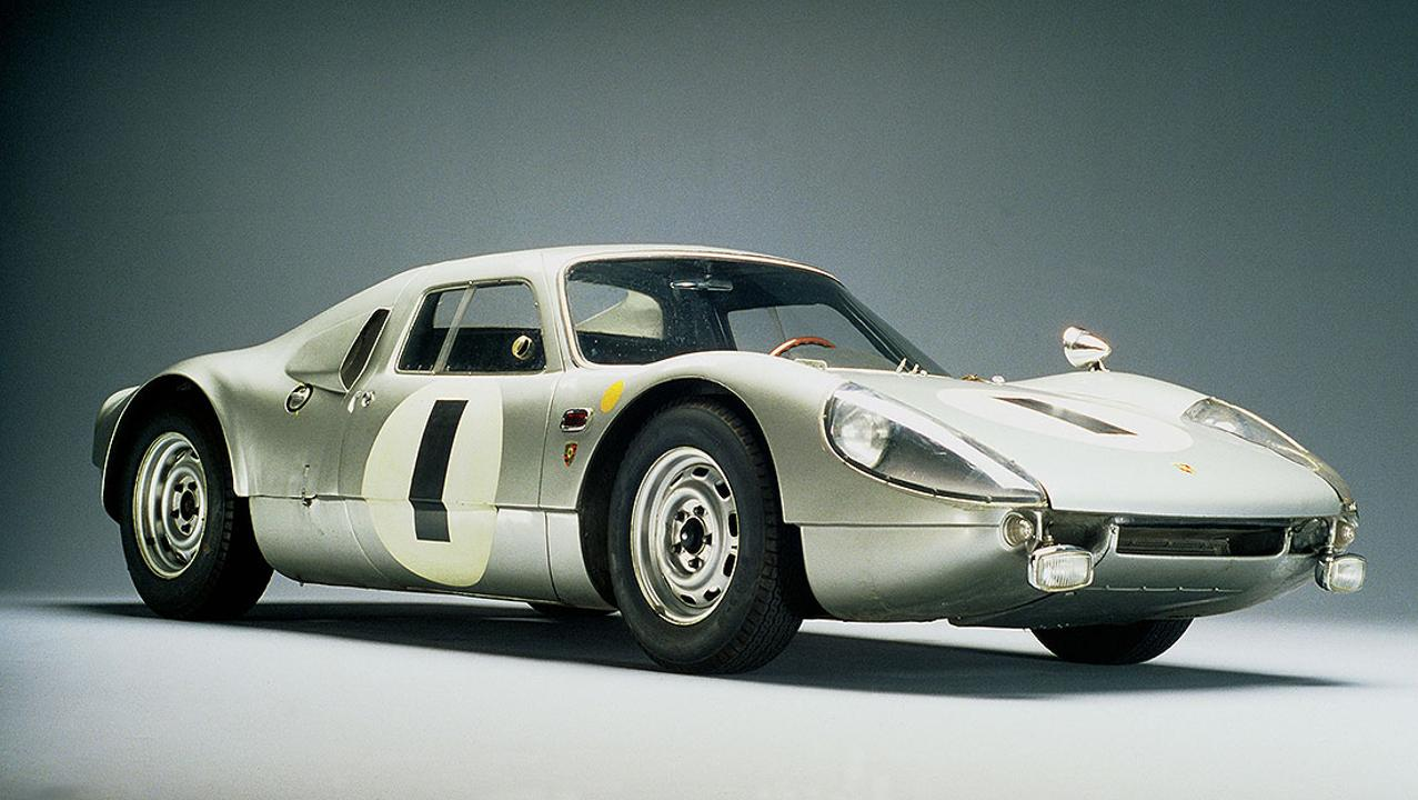 Heritage photo - Porsche 904 Carrera GTS Le Mans - 1964