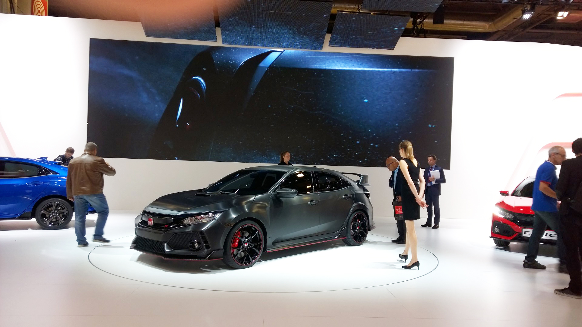 Honda Civic Type R - arrière / rear - 2016 - Mondial Auto - photo ELJ DM