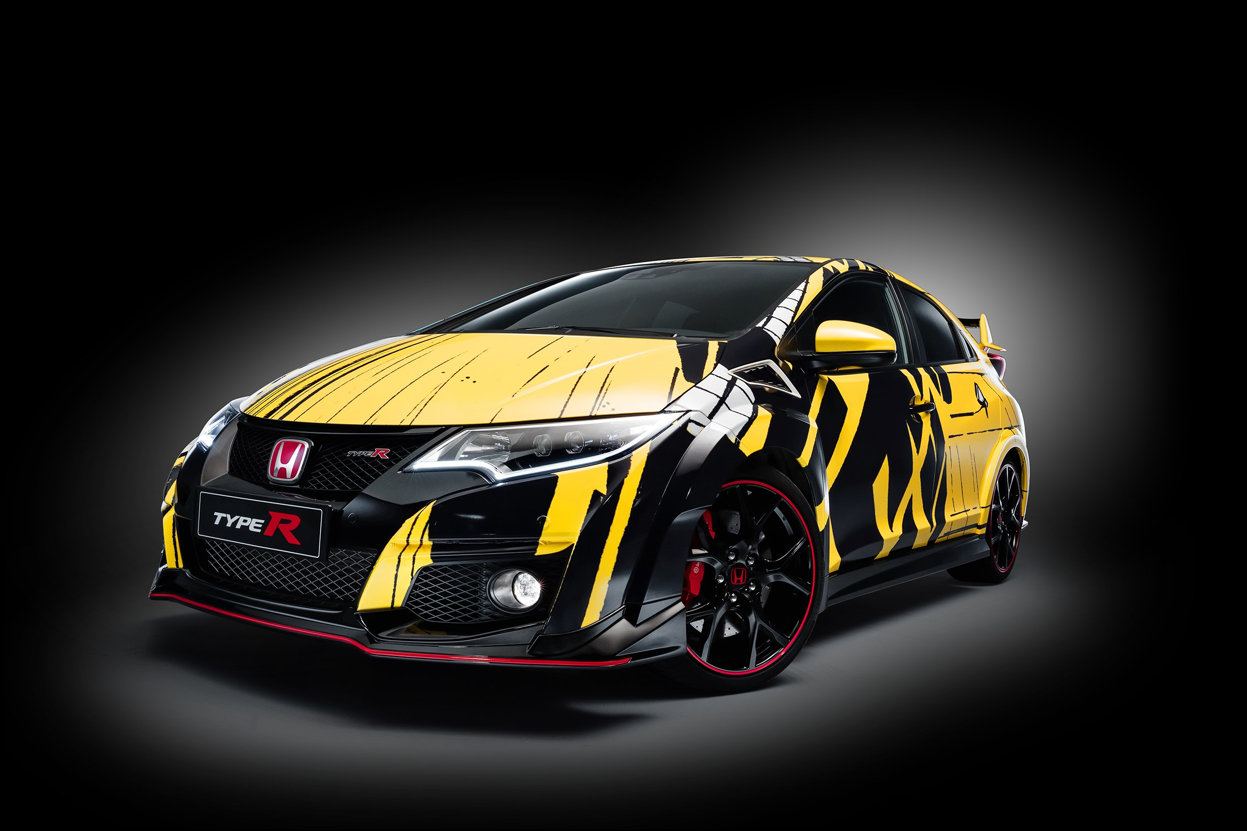 Honda Civic WTCC Art Car 2016 - profil avant / front side-face