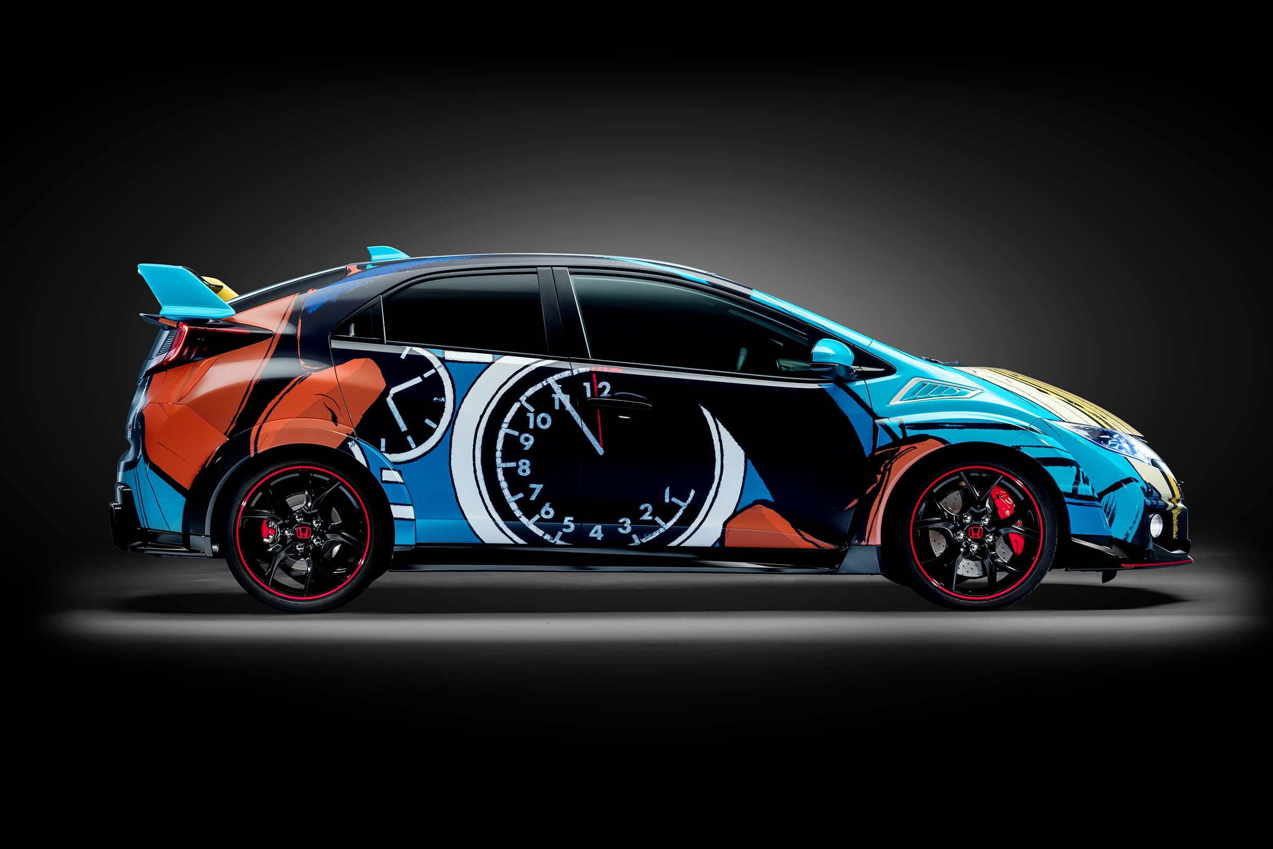 Honda Civic WTCC Art Car 2016 - side right