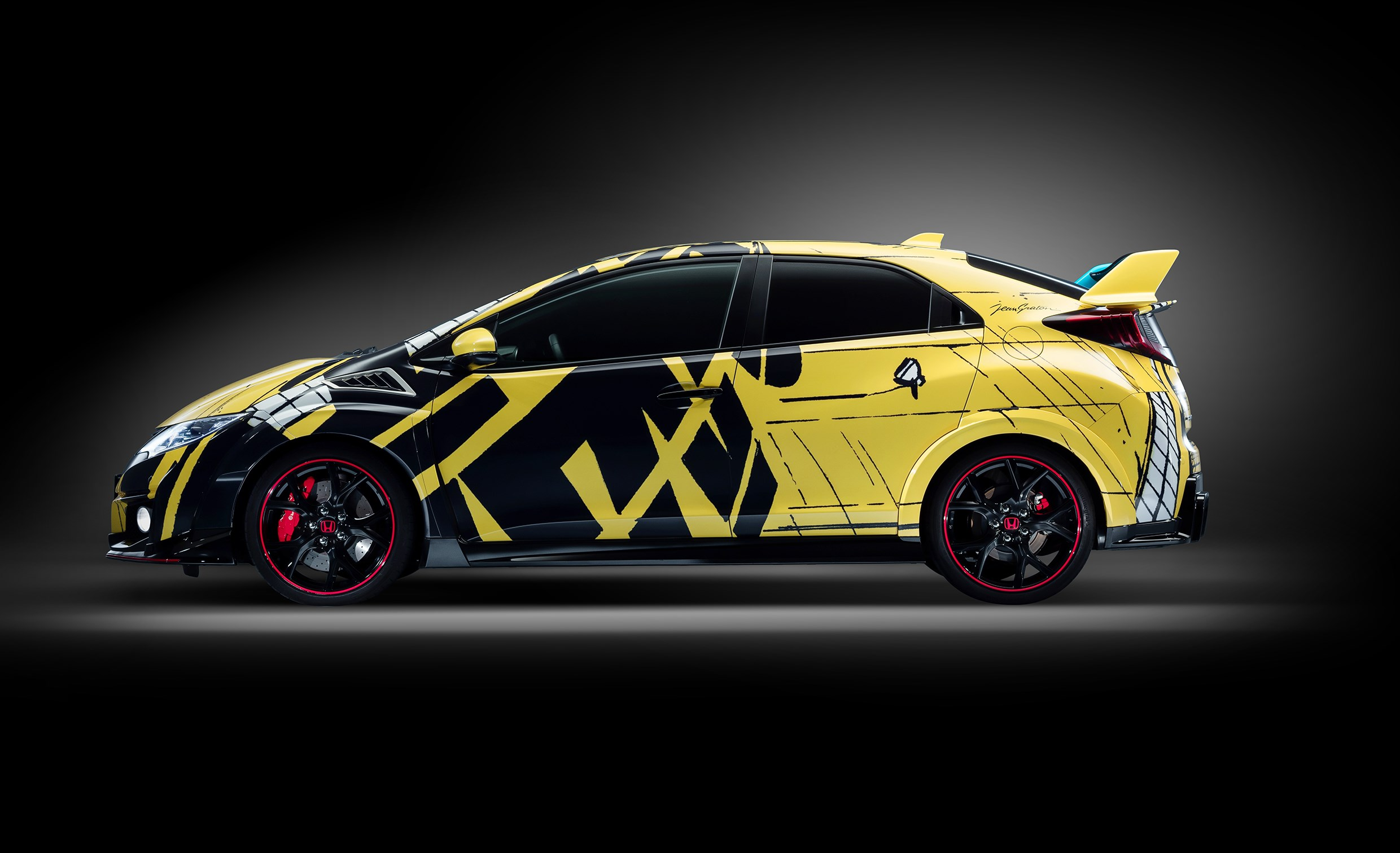 Honda Civic WTCC Art Car 2016 - side left