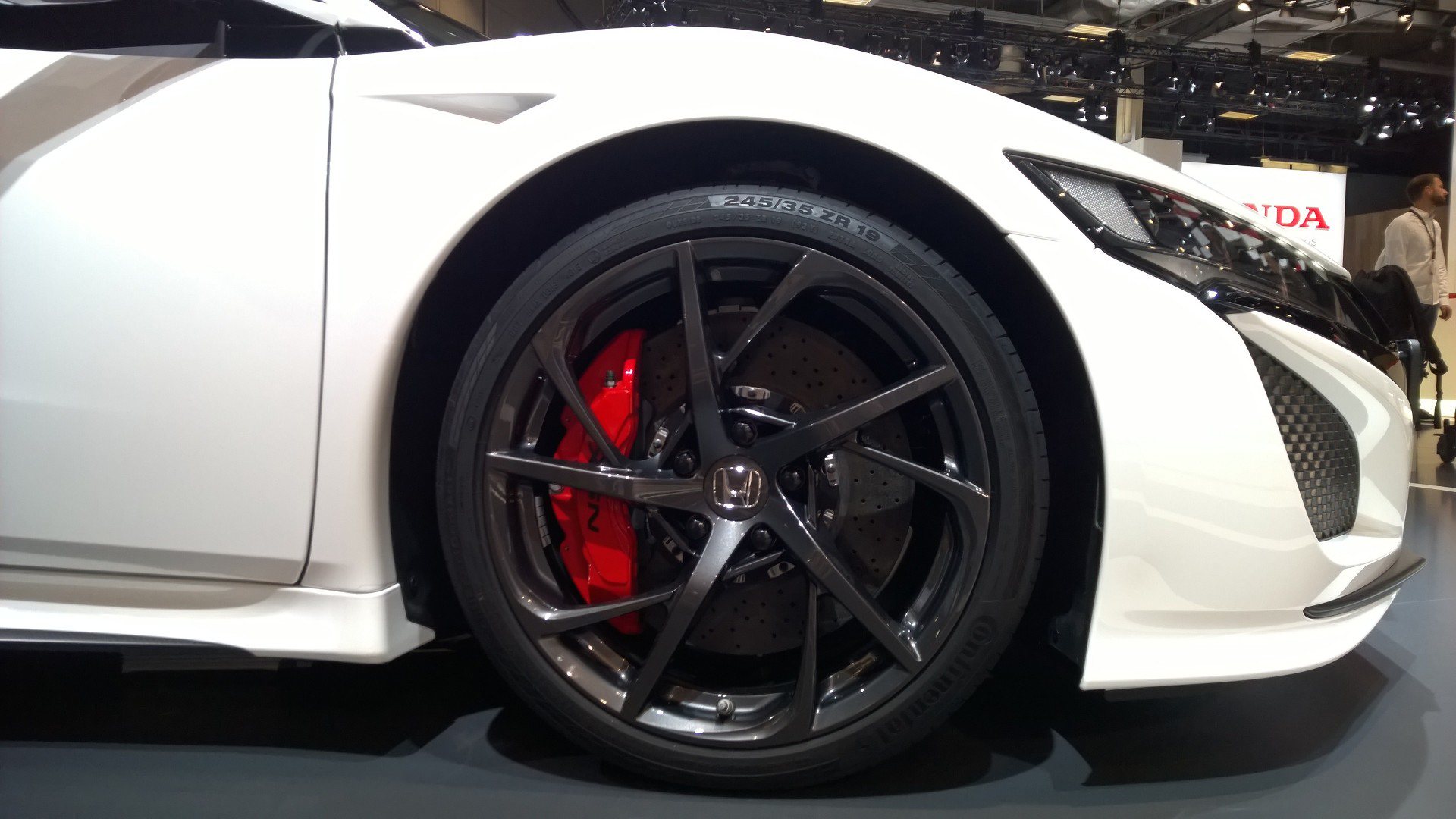 Honda NSX - jante / wheel - 2016 - Mondial Auto - photo ELJ DM