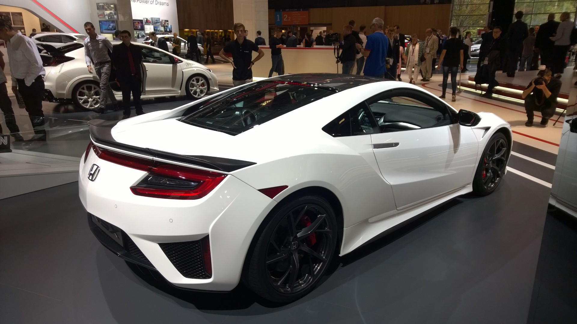Honda NSX - arrière / rear - 2016 - Mondial Auto - photo ELJ DM