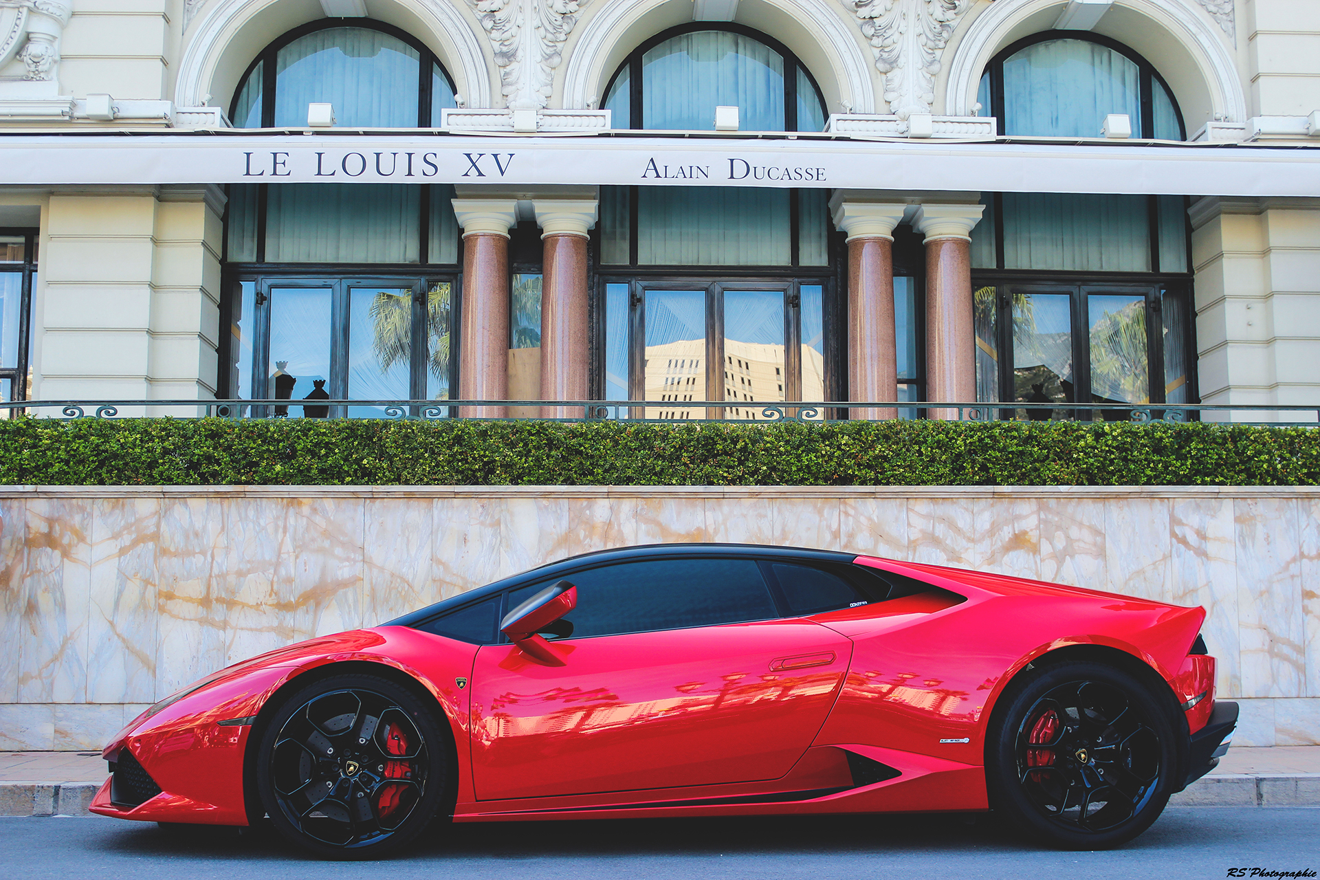 Huracan red side-face - Top Marques Monaco 2016 - Arnaud Demasier RS Photographie