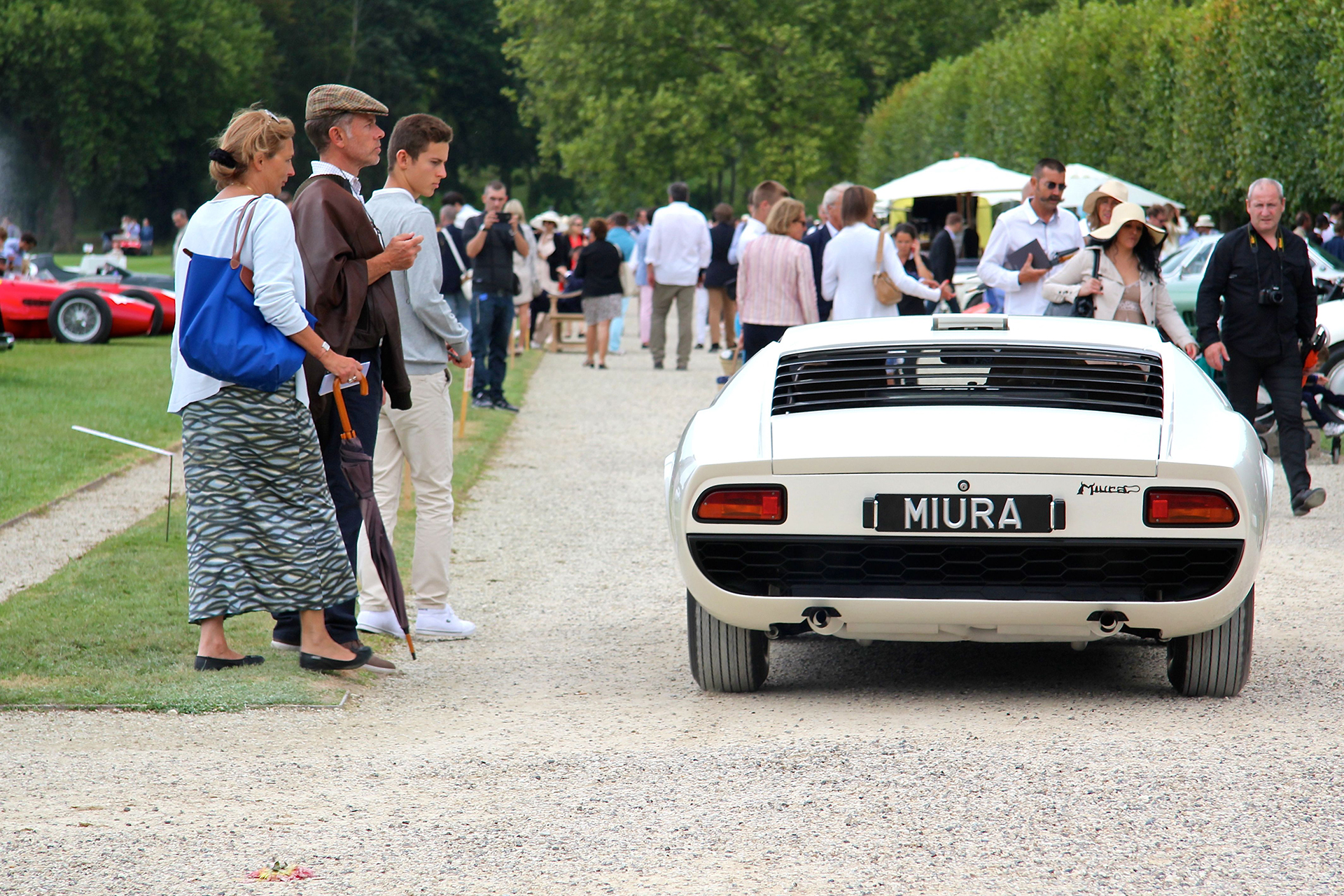 Lamborghini Miura P400 - 1966 - Chantilly - 2016 - photo Ludo Ferrari