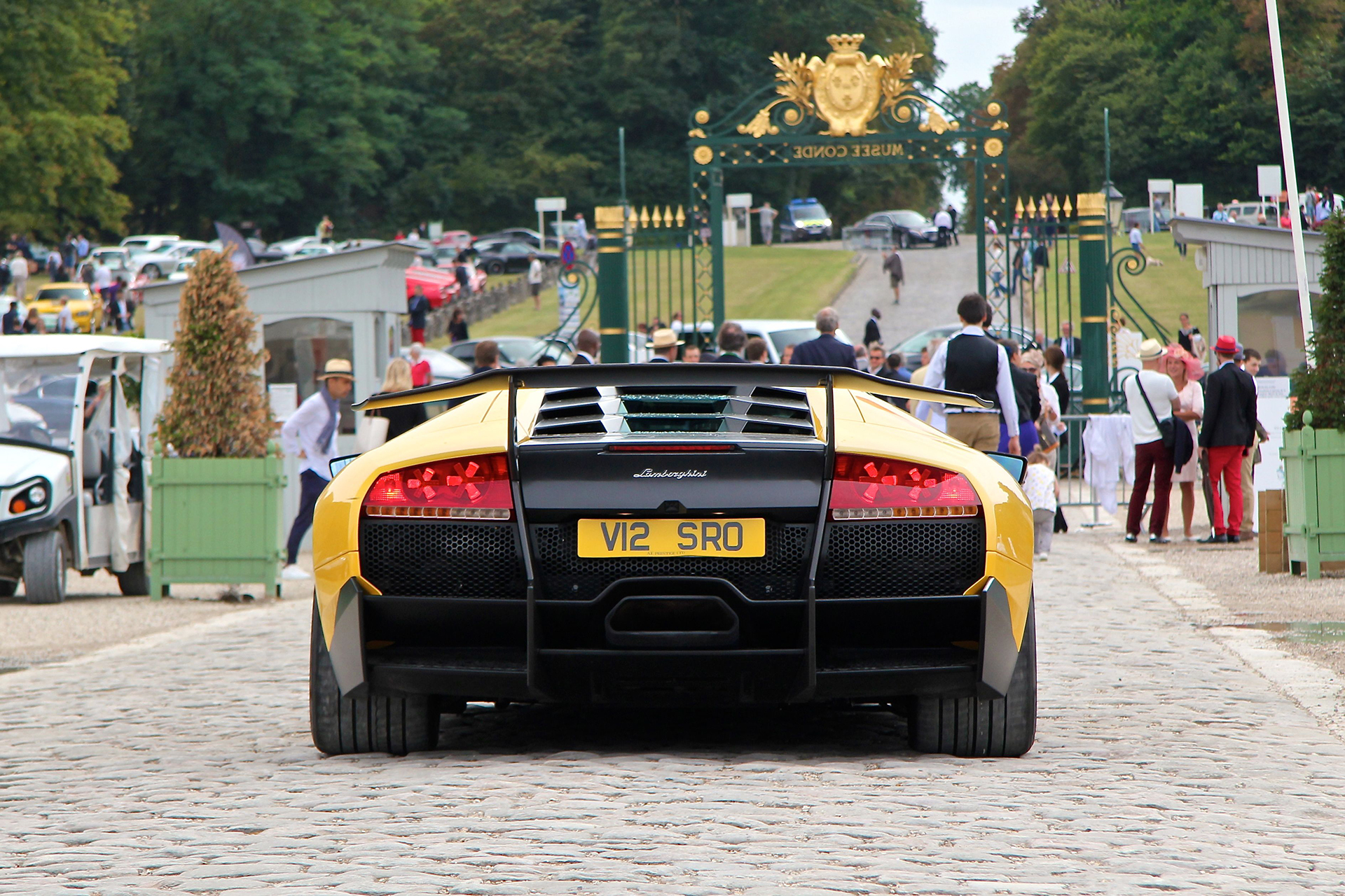 Lamborghini Murcielago SV - Chantilly - 2016 - photo Ludo Ferrari