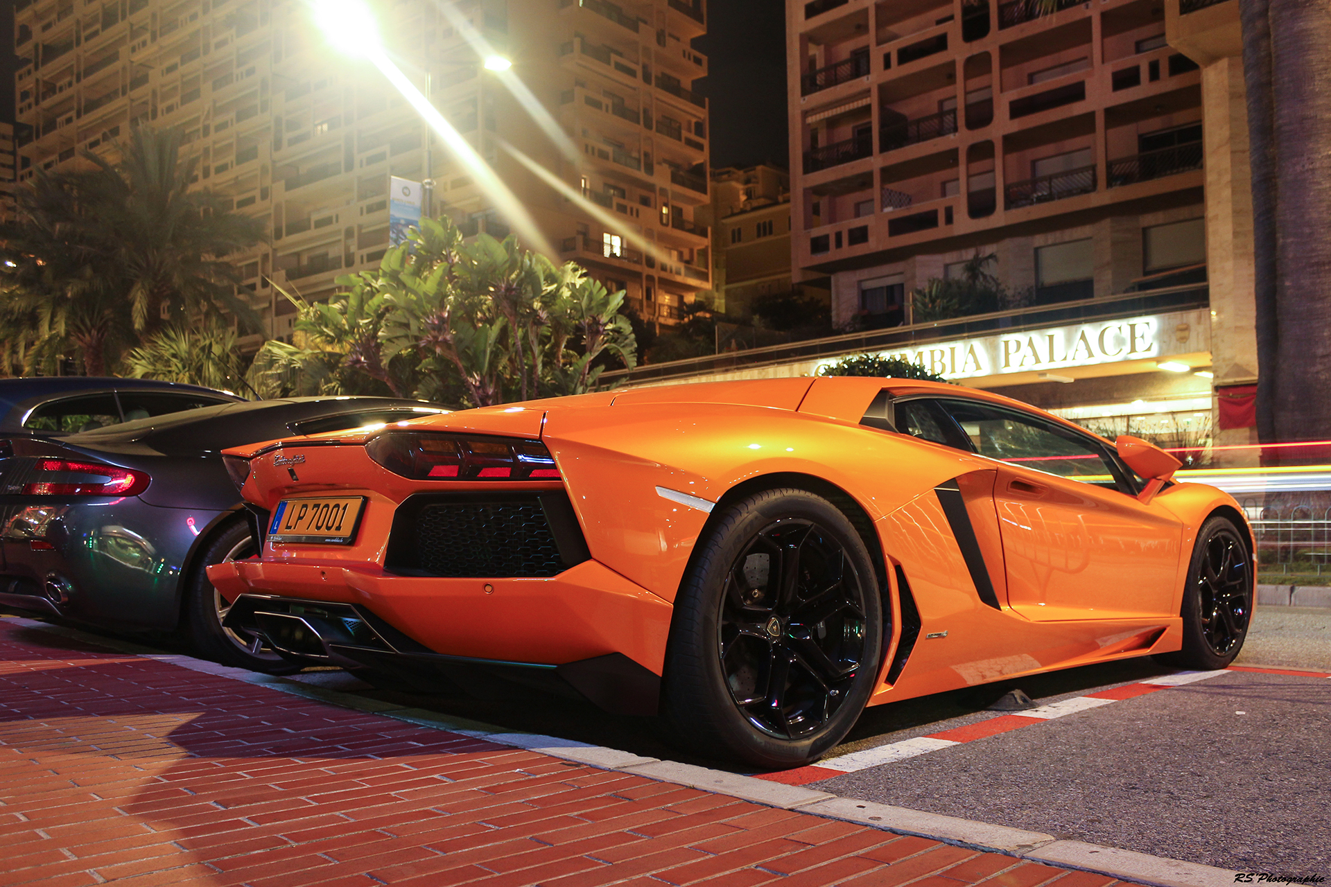 Lamborghini night rear - Top Marques Monaco 2016 - Arnaud Demasier RS Photographie