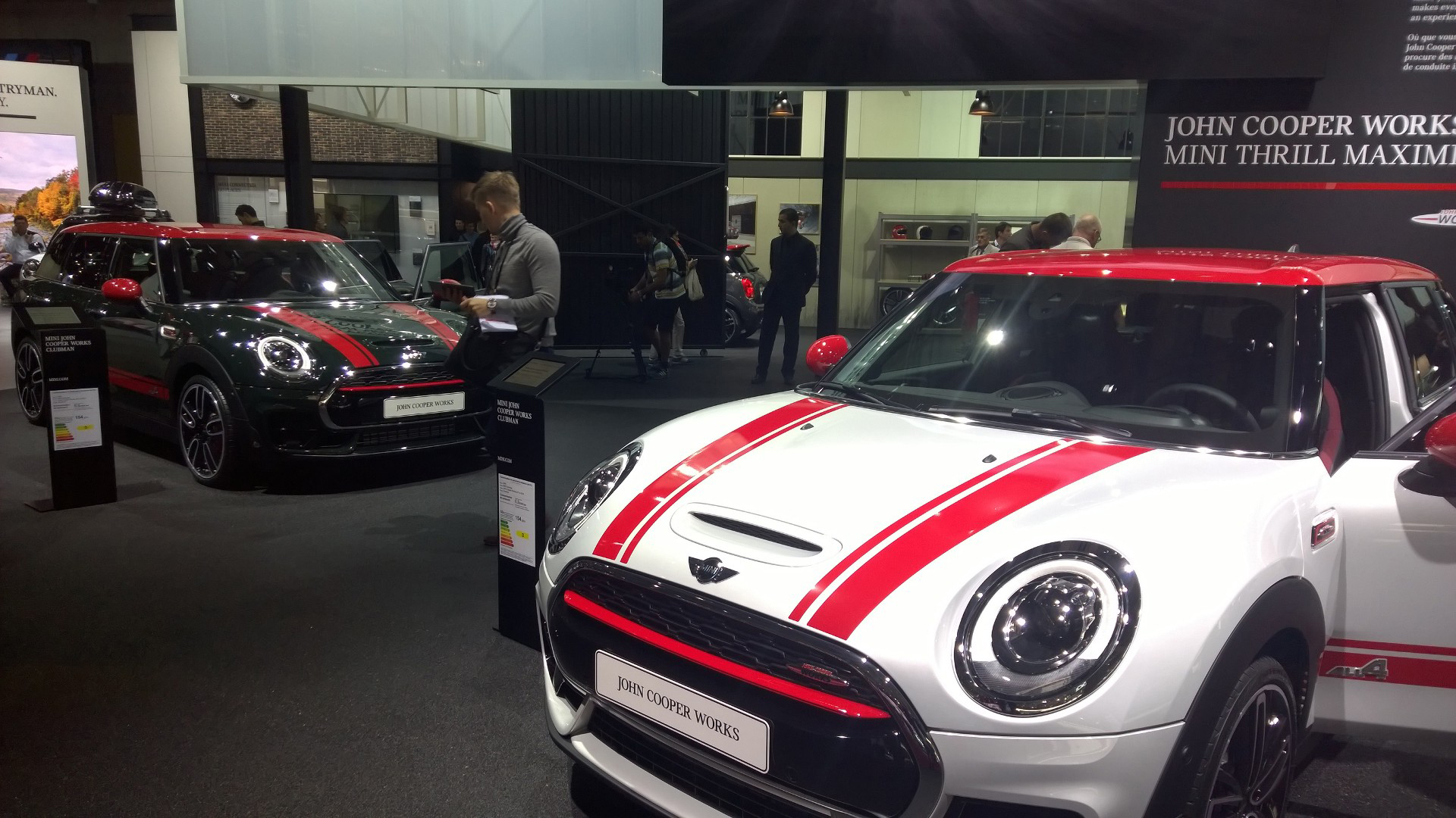 MINI stand - 2016 - Mondial Auto - photo ELJ DM