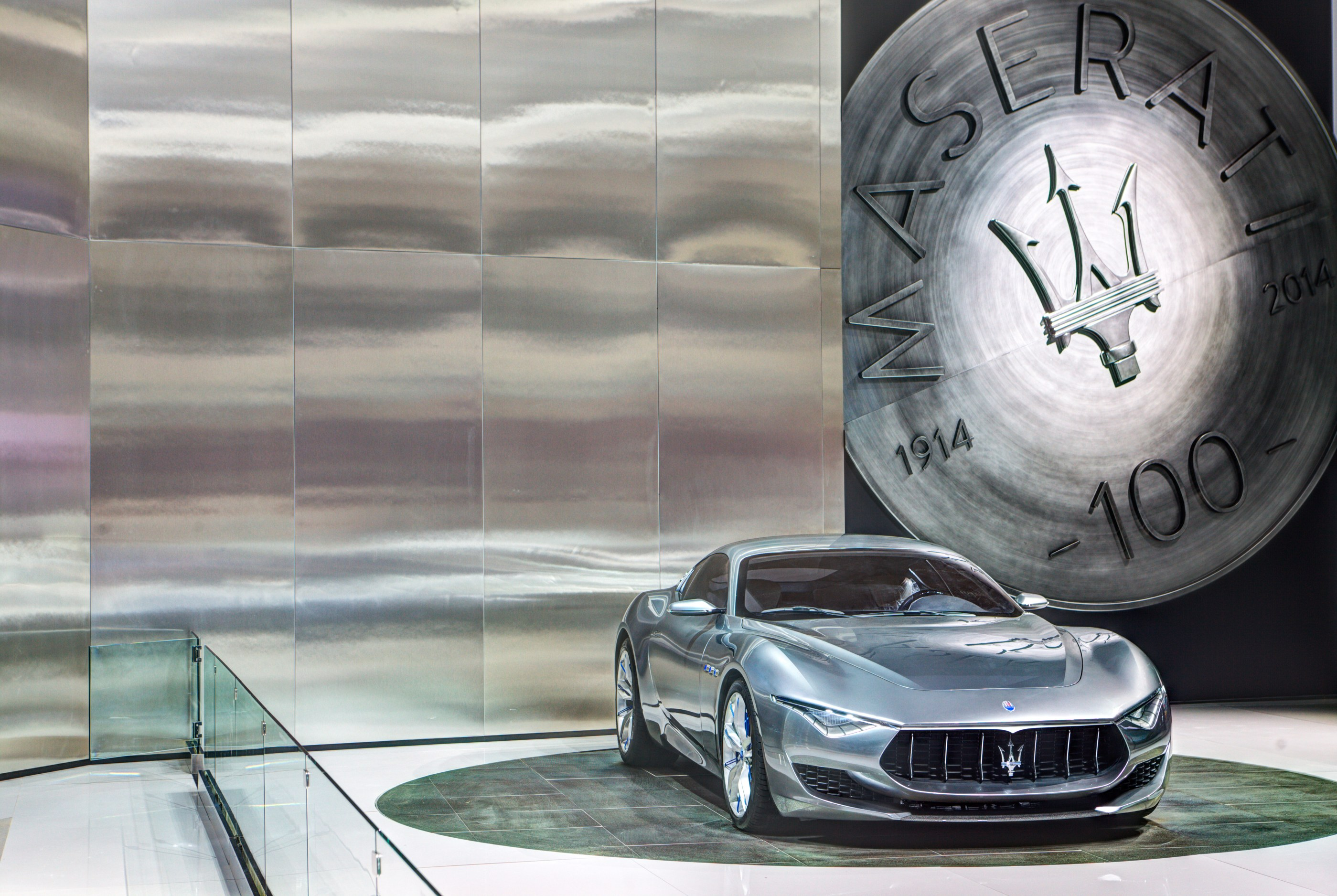 Maserati Alfieri - photo Detroit Auto Show 2015