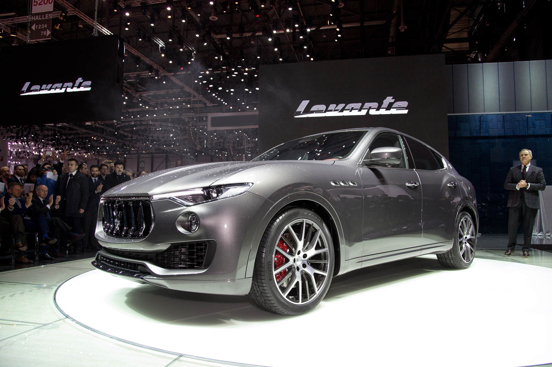 Maserati Levante - 2016 - photo Geneva
