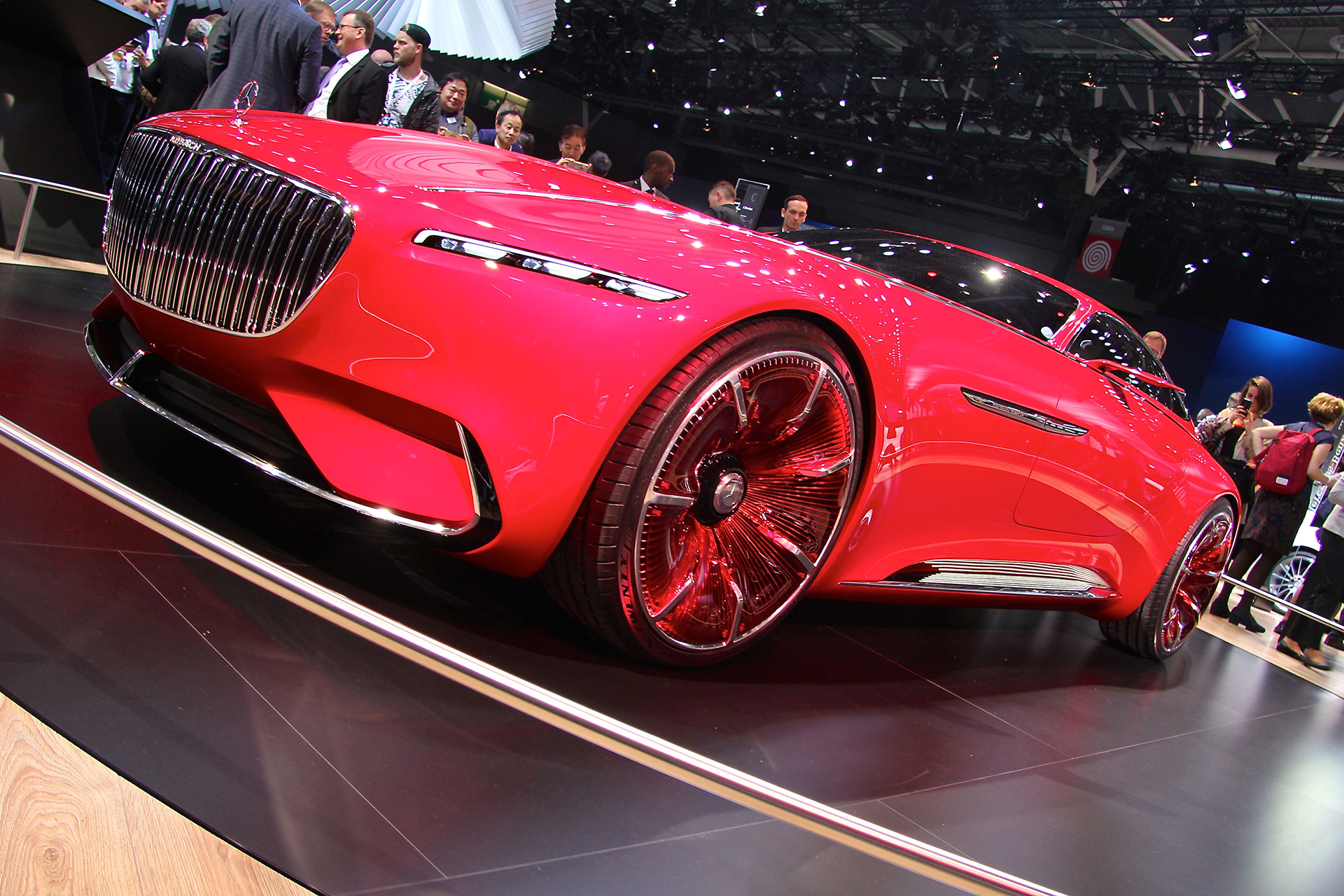 Mercedes Maybach Vision - 2016 - Mondial Auto - photo Ludo Ferrari