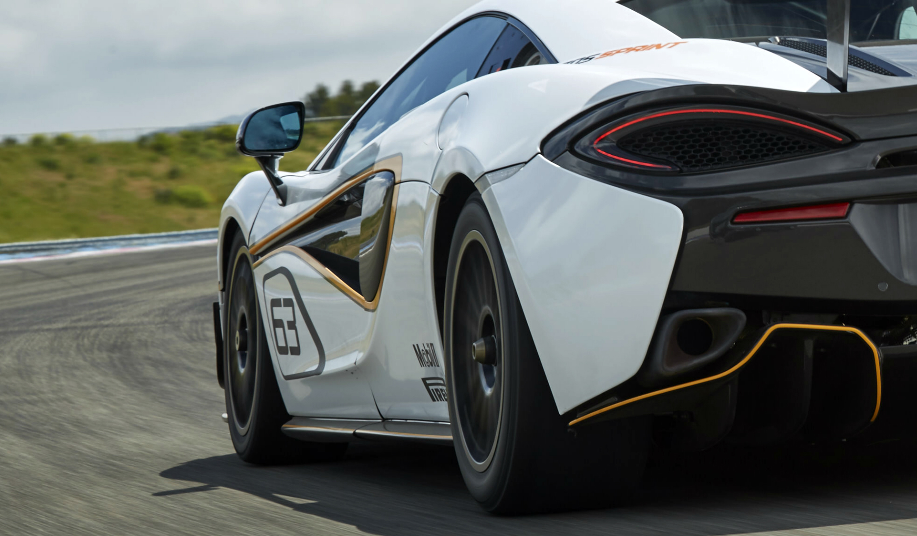 McLaren 570S Sprint - rear side