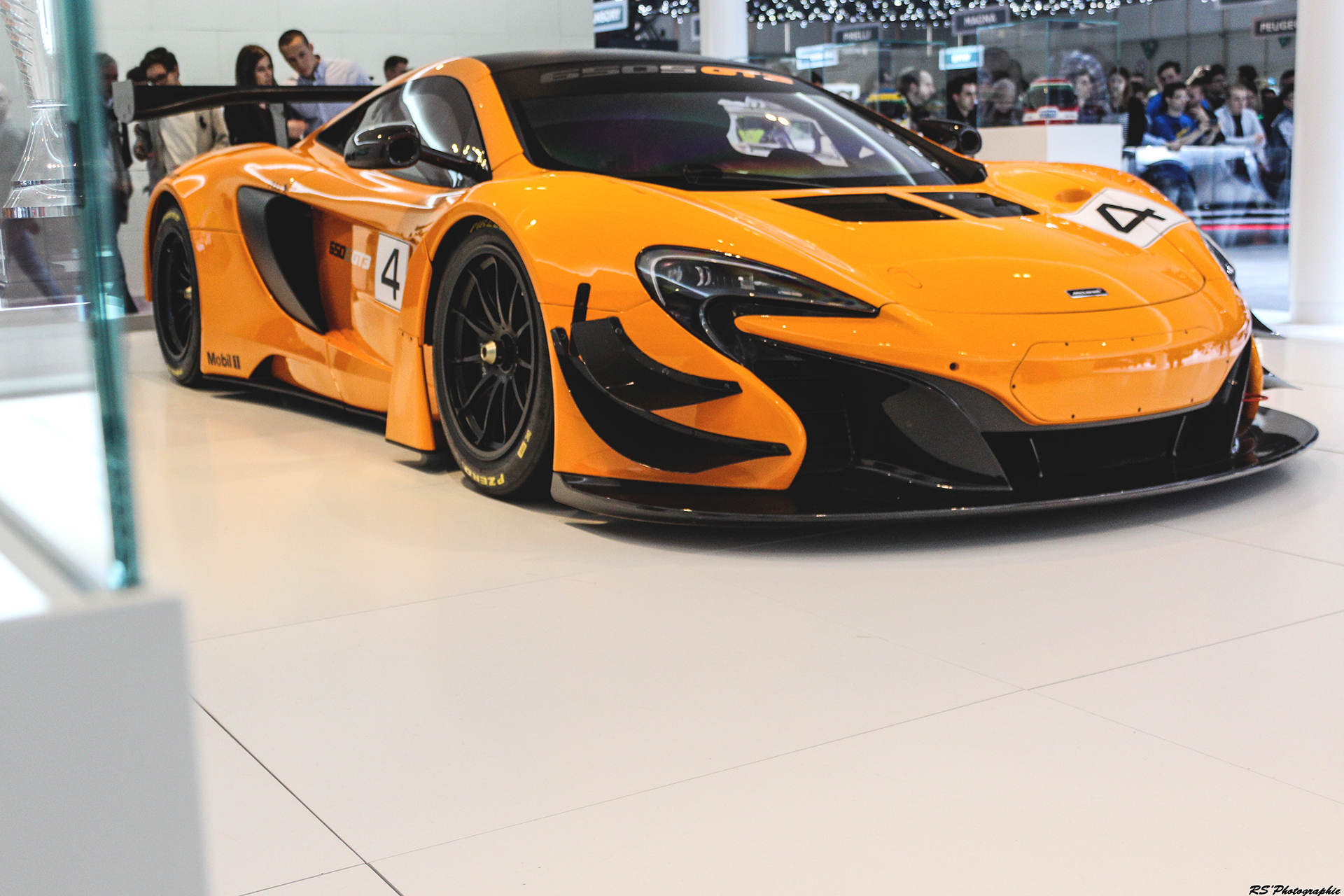 McLaren 650S GT3 - front side-face - Geneva 2016 - Arnaud Demasier RS Photographie